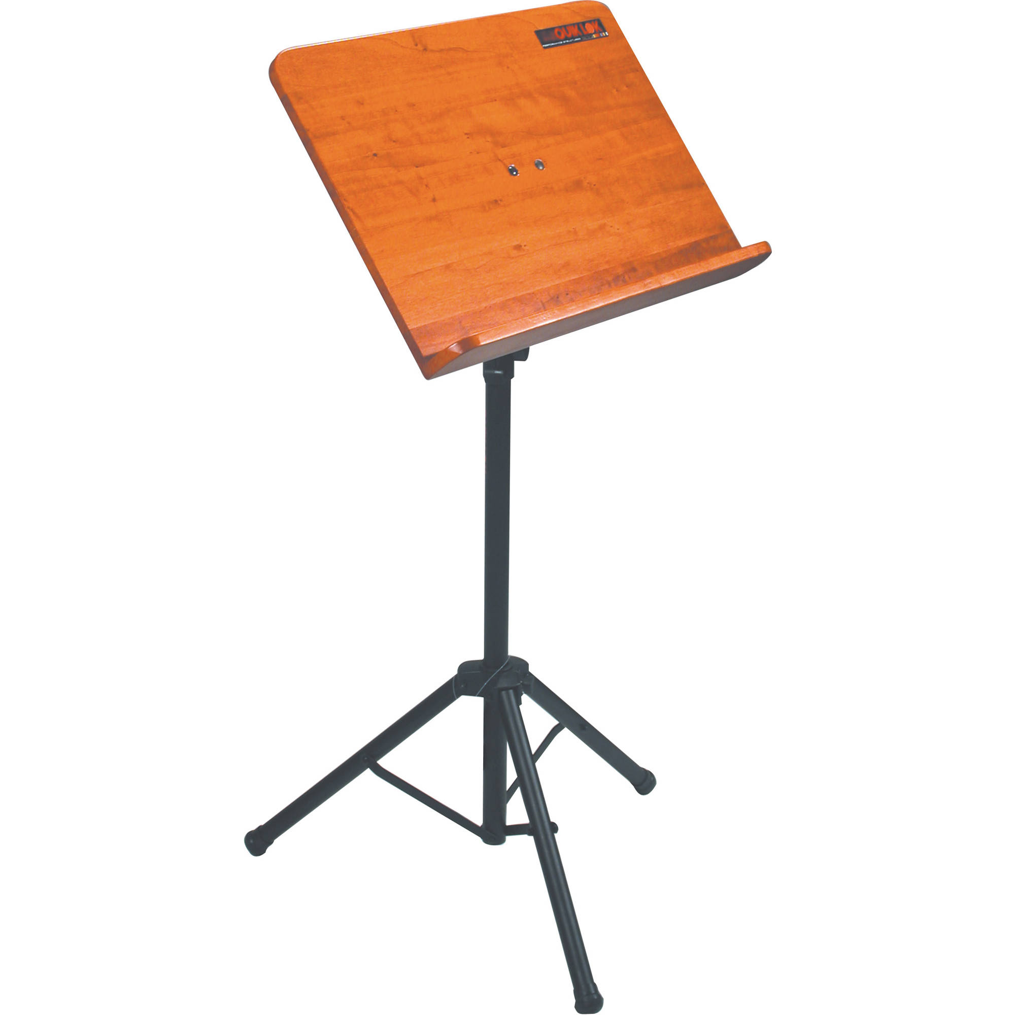 quiklok ms 332 heavy duty orchestra sheet music stand ms 332 b h. Black Bedroom Furniture Sets. Home Design Ideas