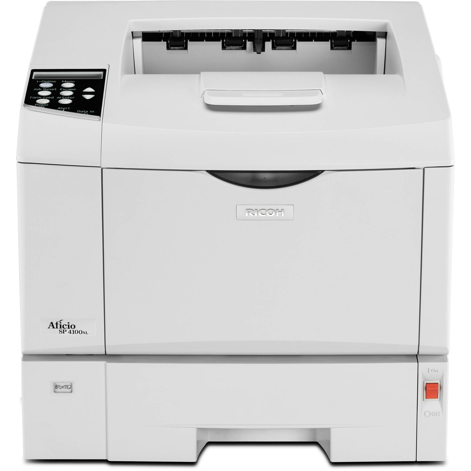 Ricoh Aficio SP 4100N Printer Universal PostScript3 Treiber Windows 10