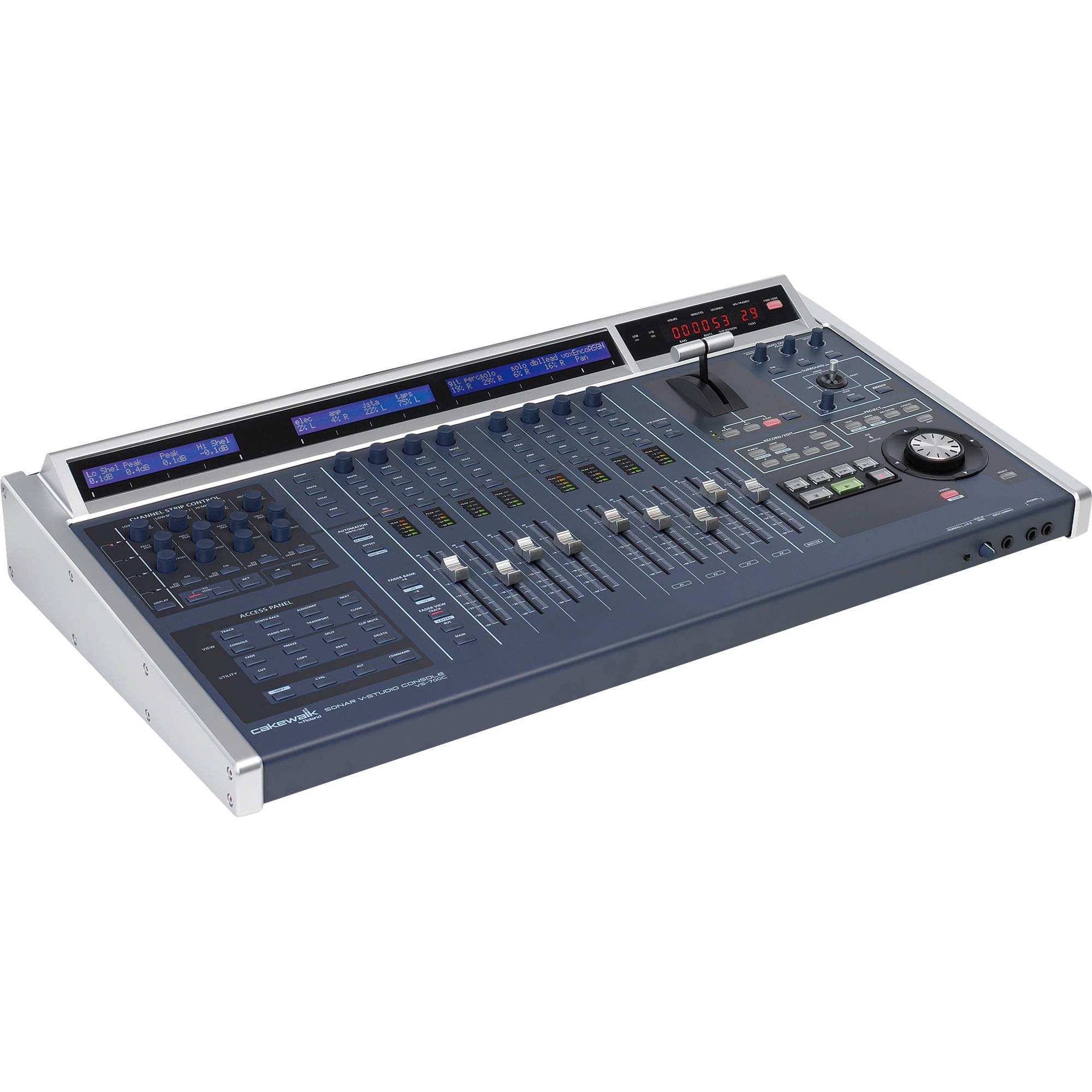 Roland Sonar V Studio 700 Control Surface Vs 700cs B Amp H Photo