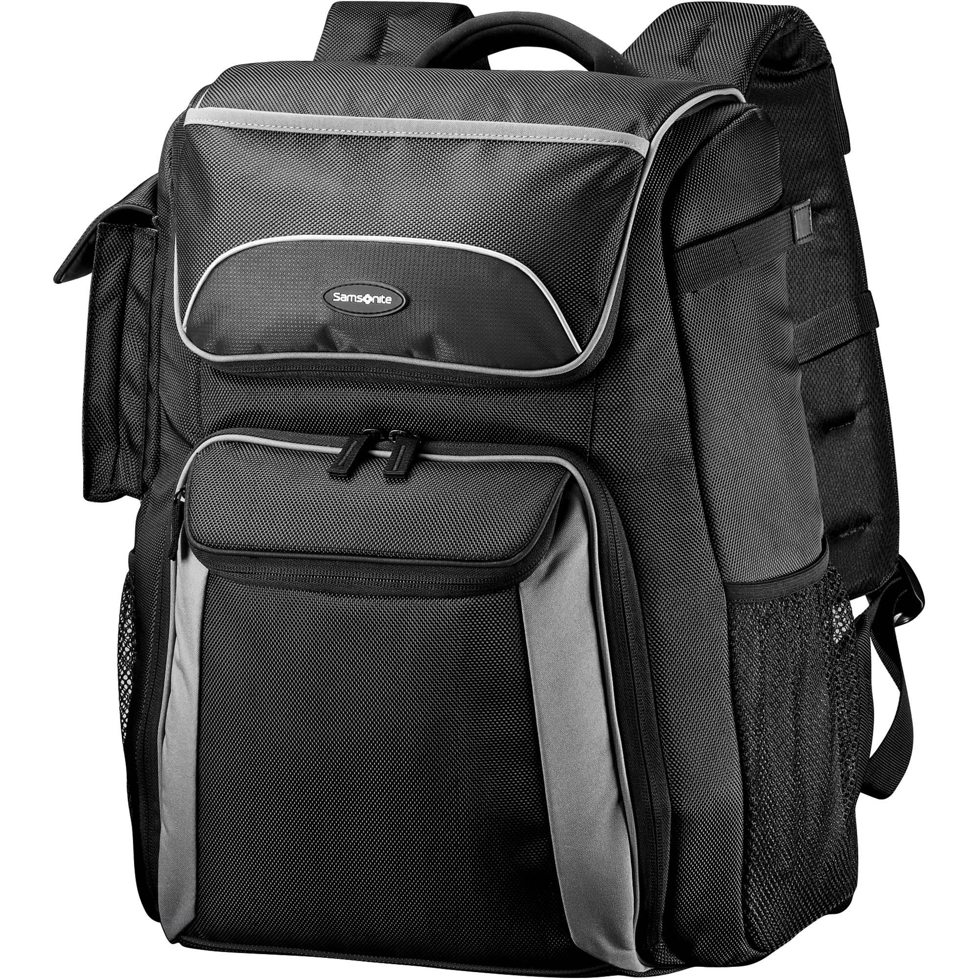 Samsonite Backpack Camera Bag Black Gray