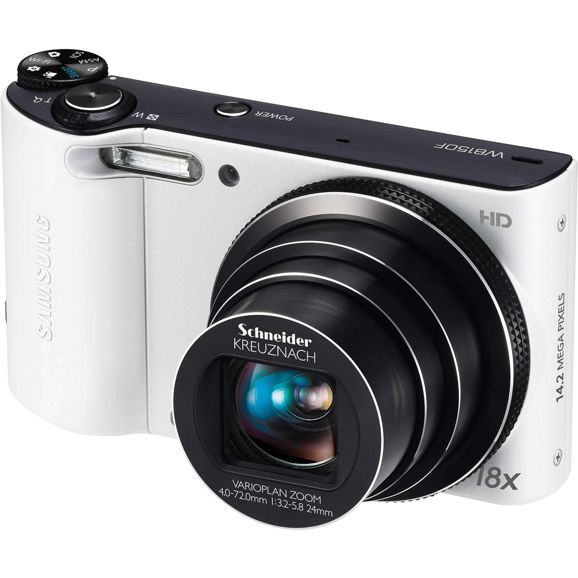 samsung wb150f smart long zoom digital camera ec