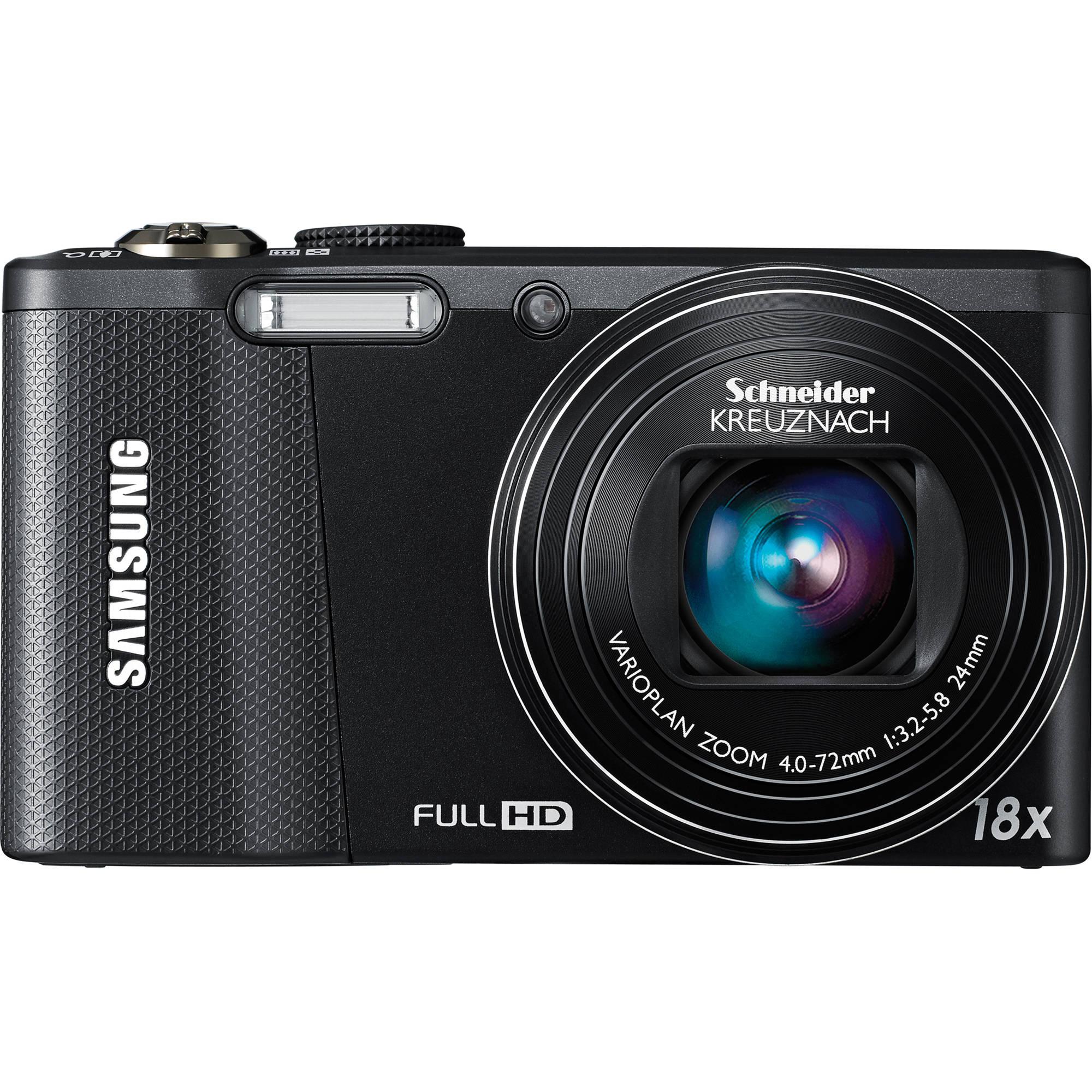 Samsung WB750 Digital Camera (Black) EC-WB750ZBPBUS B&H Photo