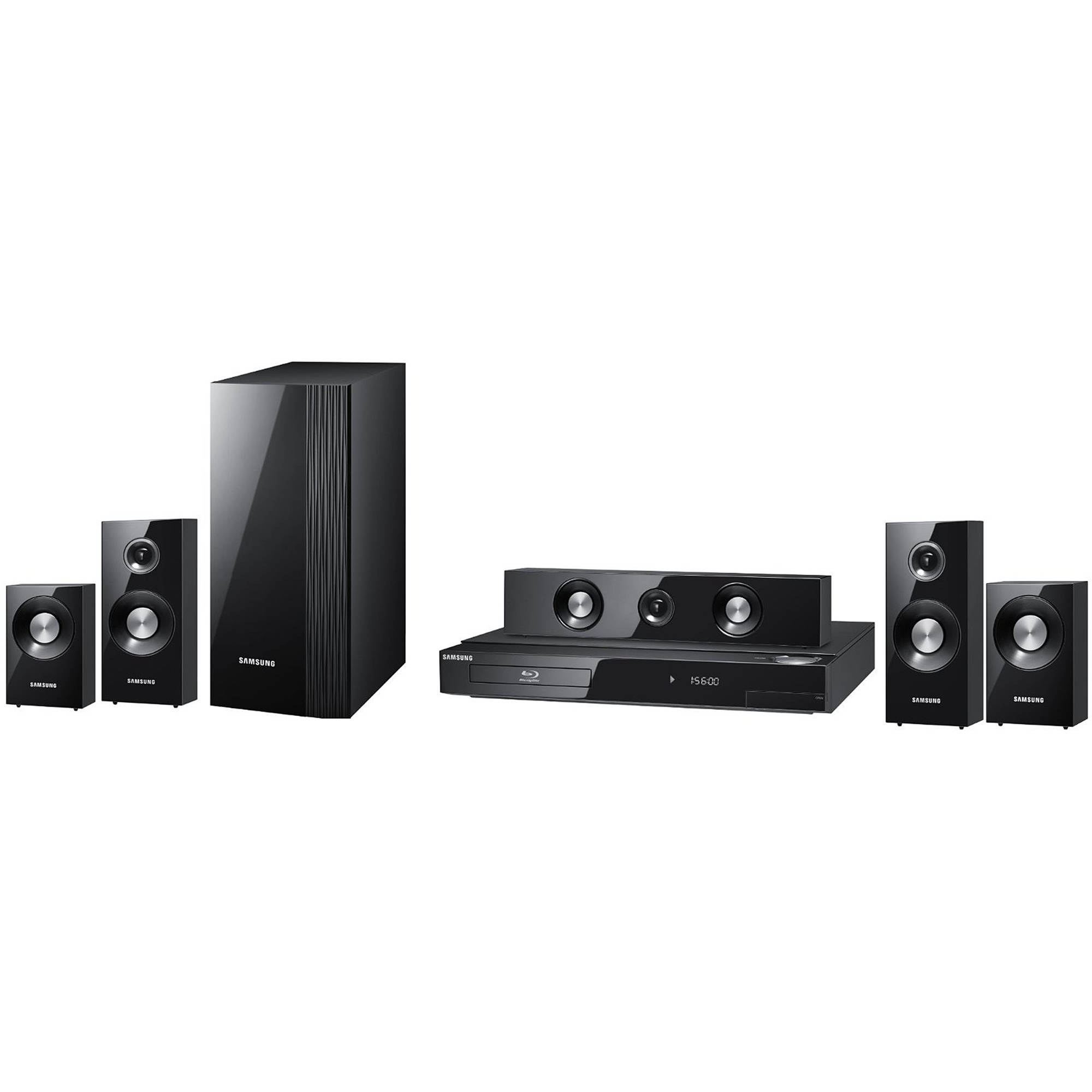 samsung ht c5500 5 1 channel blu ray home theater system. Black Bedroom Furniture Sets. Home Design Ideas