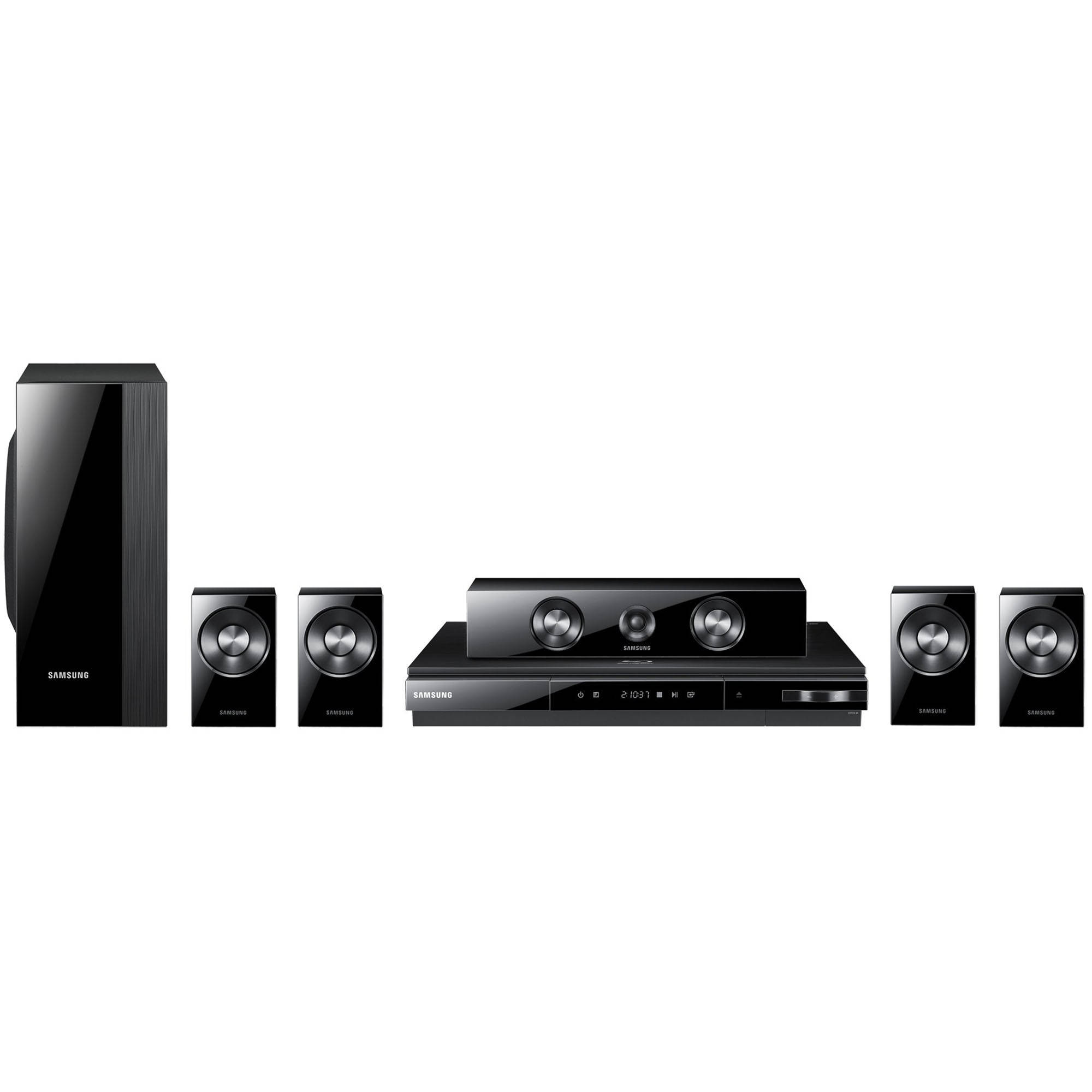 samsung ht d5300 5 1 channel blu ray home theater system. Black Bedroom Furniture Sets. Home Design Ideas
