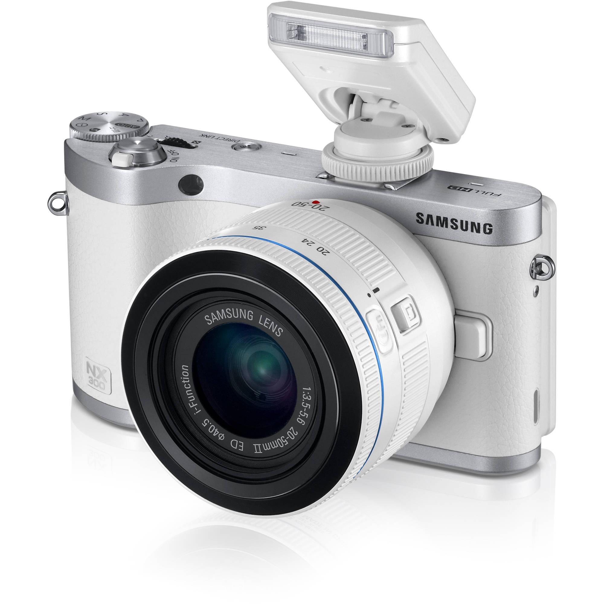 Samsung Nx300 Mirrorless Digital Camera Ev Nx300zbfuus Bh Photo Sony 6000 With Lensa 16 50 Mm F 35 56 Limited 20 50mm Ed Ii