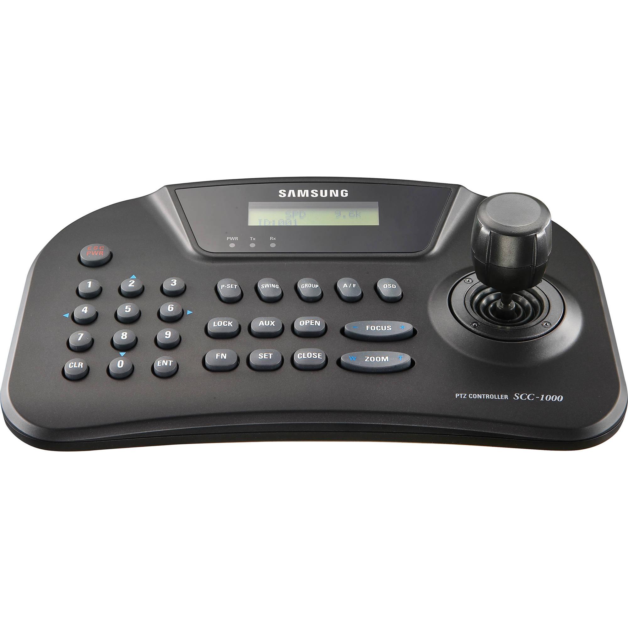 Samsung Techwin Spc 1010 Ptz Control Keyboard Bh Photo Pelco Rs485 Wiring Diagram