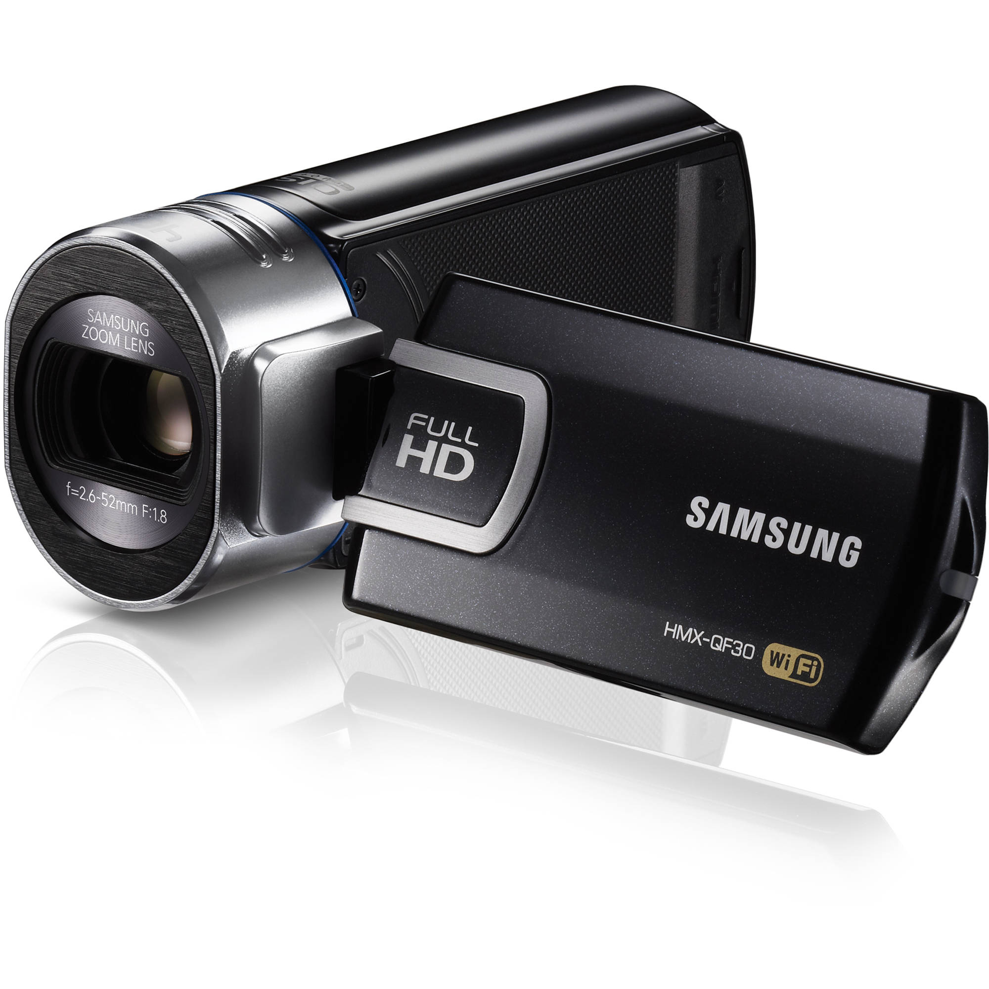 Samsung HMX QF30 HD Camcorder Black HMX QF30BN XAA BampH Photo