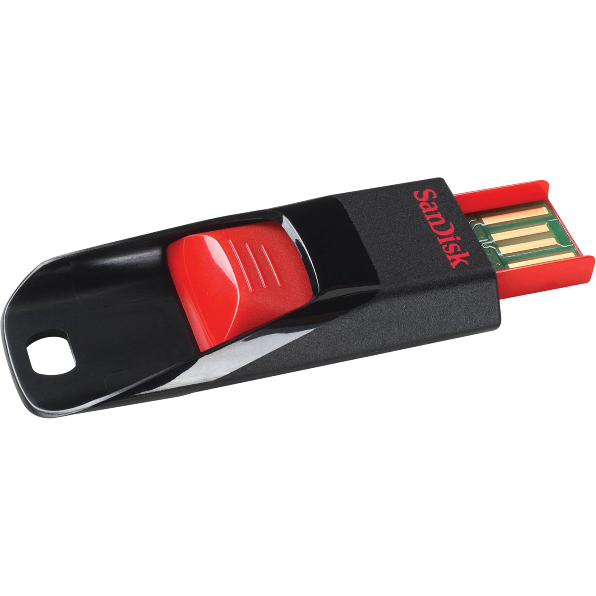 sandisk cruzer edge 4gb usb 2 0 flash drive sdcz51 004g. Black Bedroom Furniture Sets. Home Design Ideas