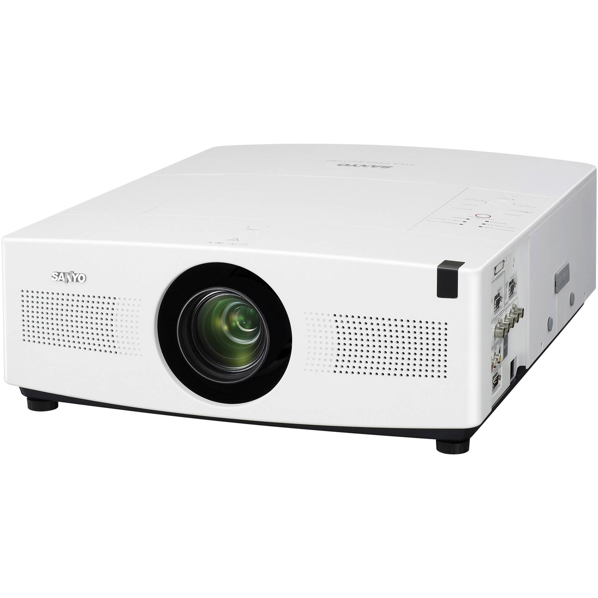 Sanyo plc xtc50al portable xga lcd projector plc xtc50al b h for Pocket lcd projector reviews