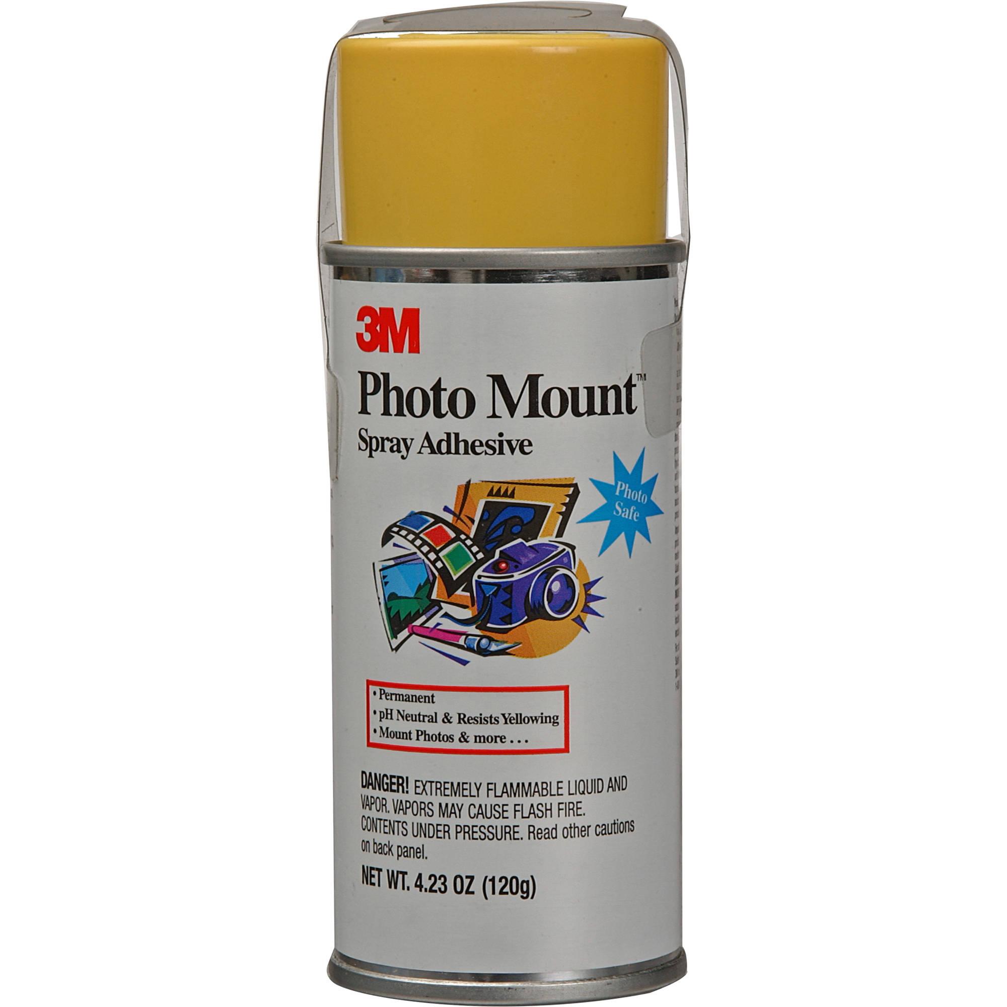 Scotch Photo Mount Spray 2oz 6090 Bh Photo Video