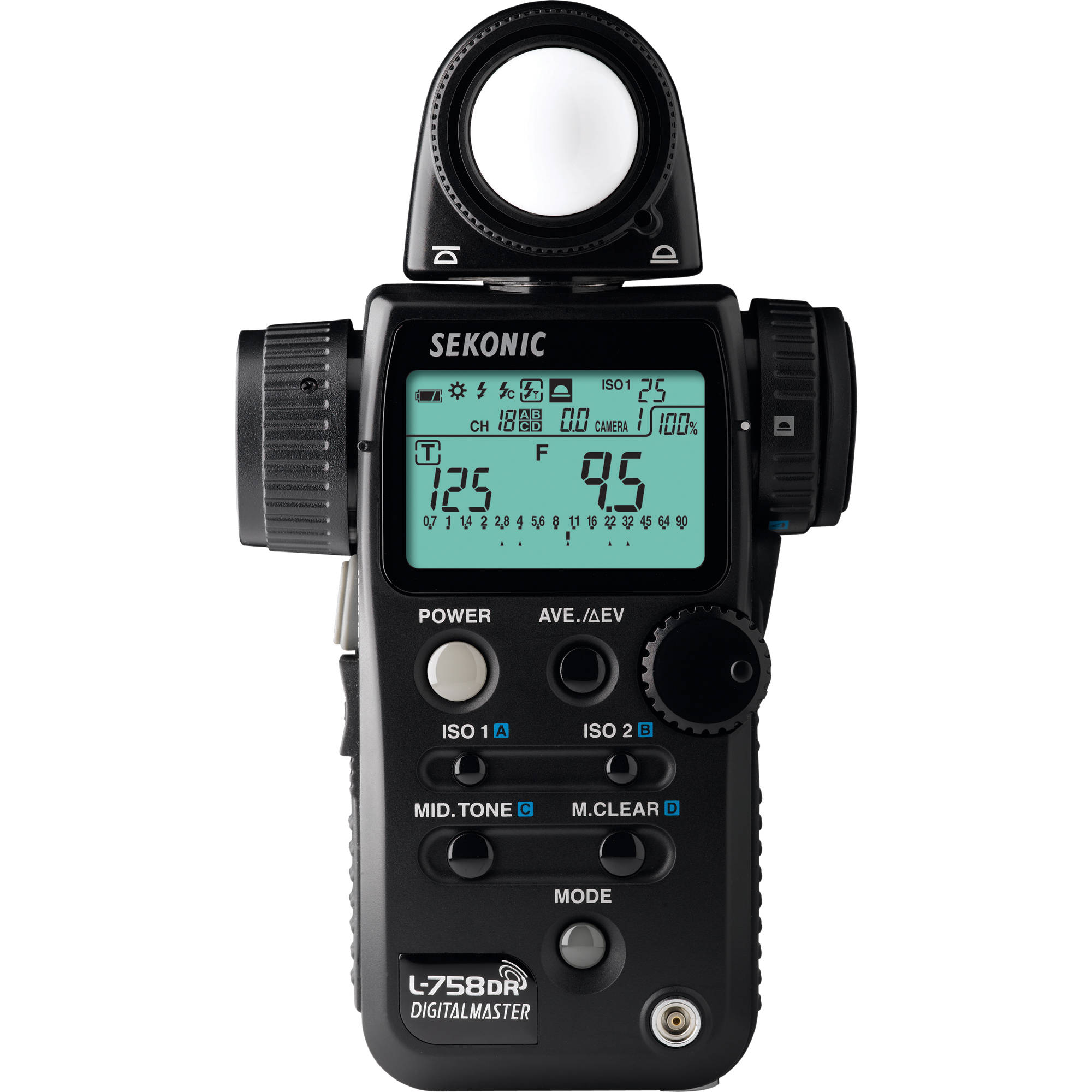 Sekonic L-758DR DigitalMaster Flash Meter