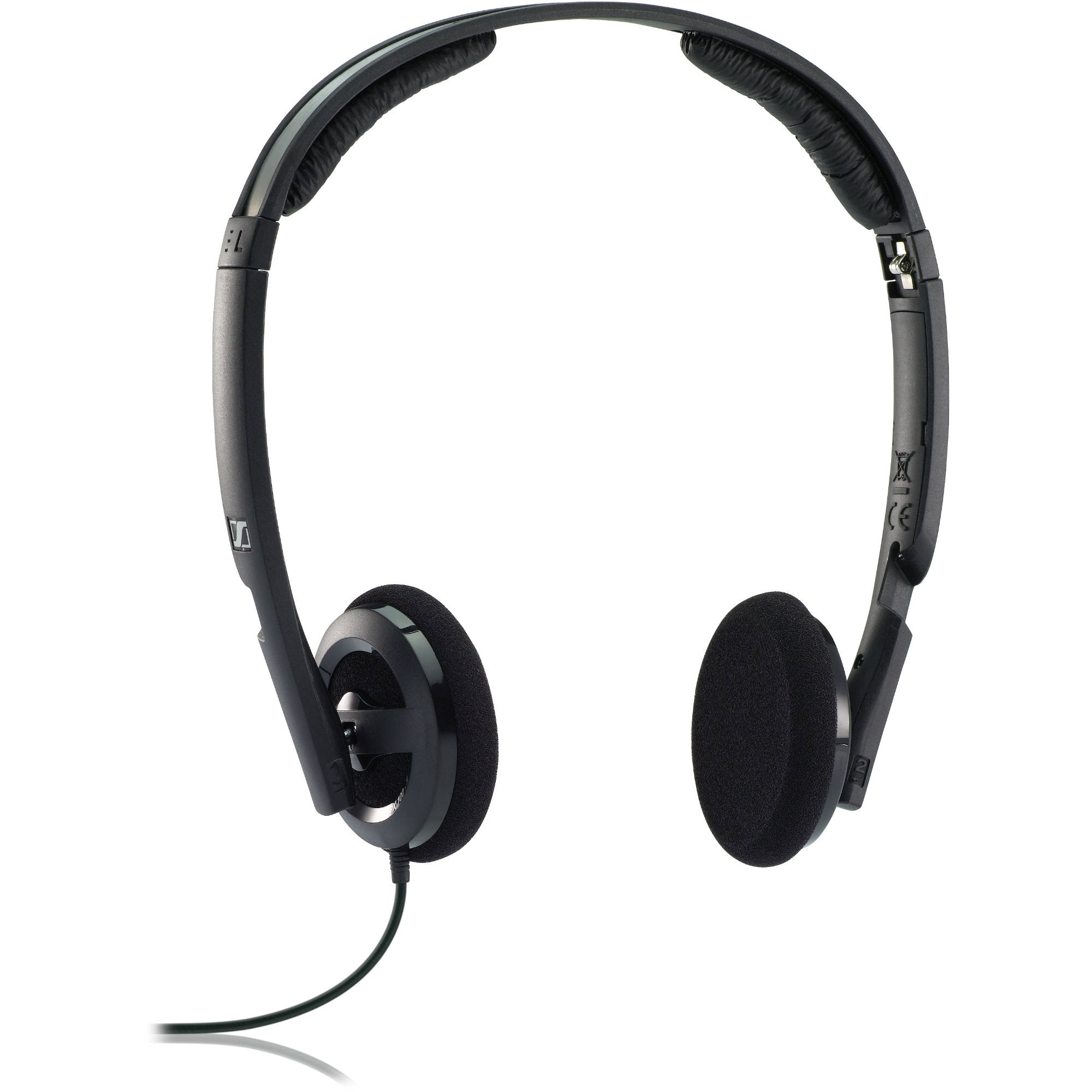 sennheiser px 100 ii on ear stereo headphones black px100 ii. Black Bedroom Furniture Sets. Home Design Ideas