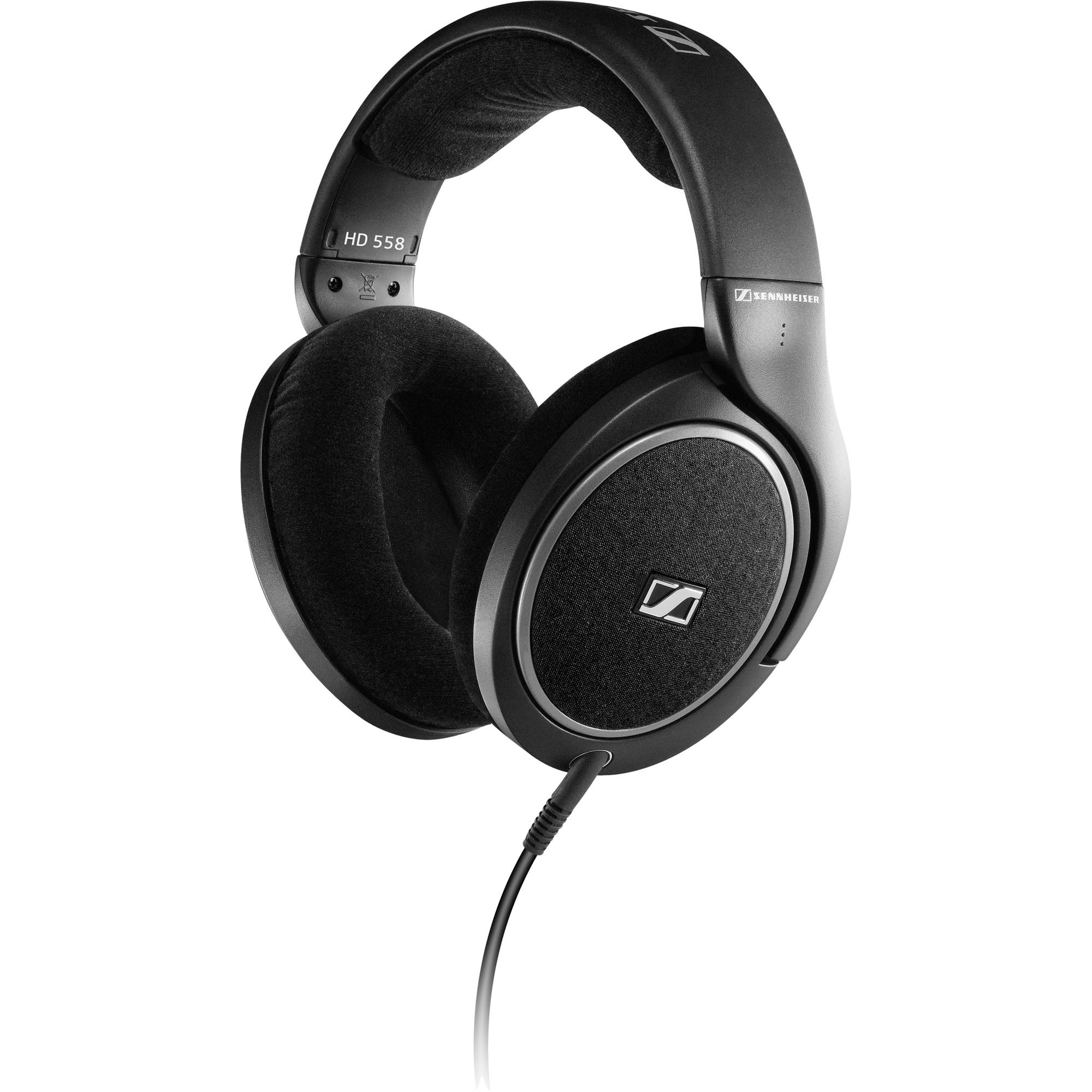 Sennheiser HD 558 Open-Back Around-Ear Stereo Headphones