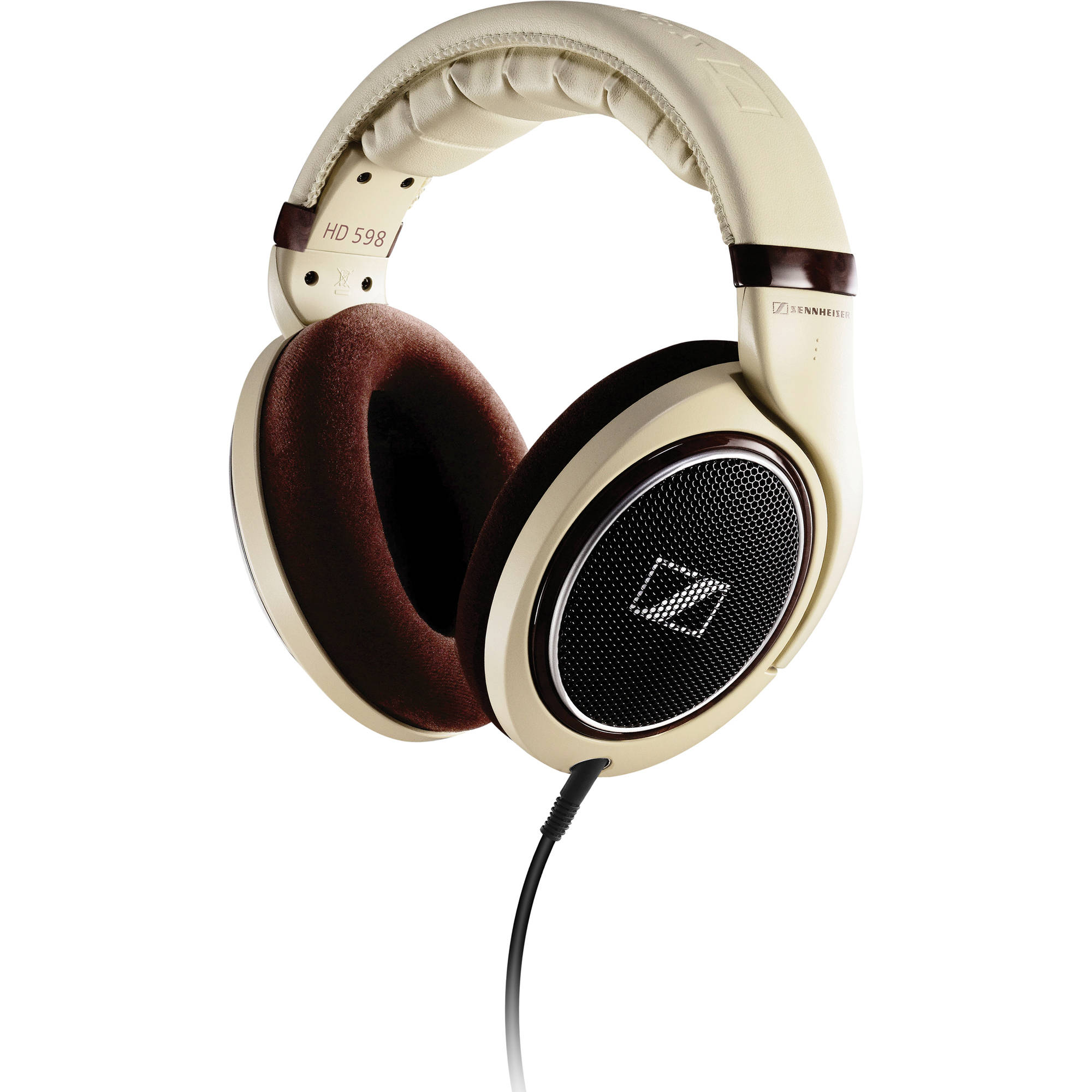 Sennheiser HD 598 Open-Back Around-Ear Stereo Headphones