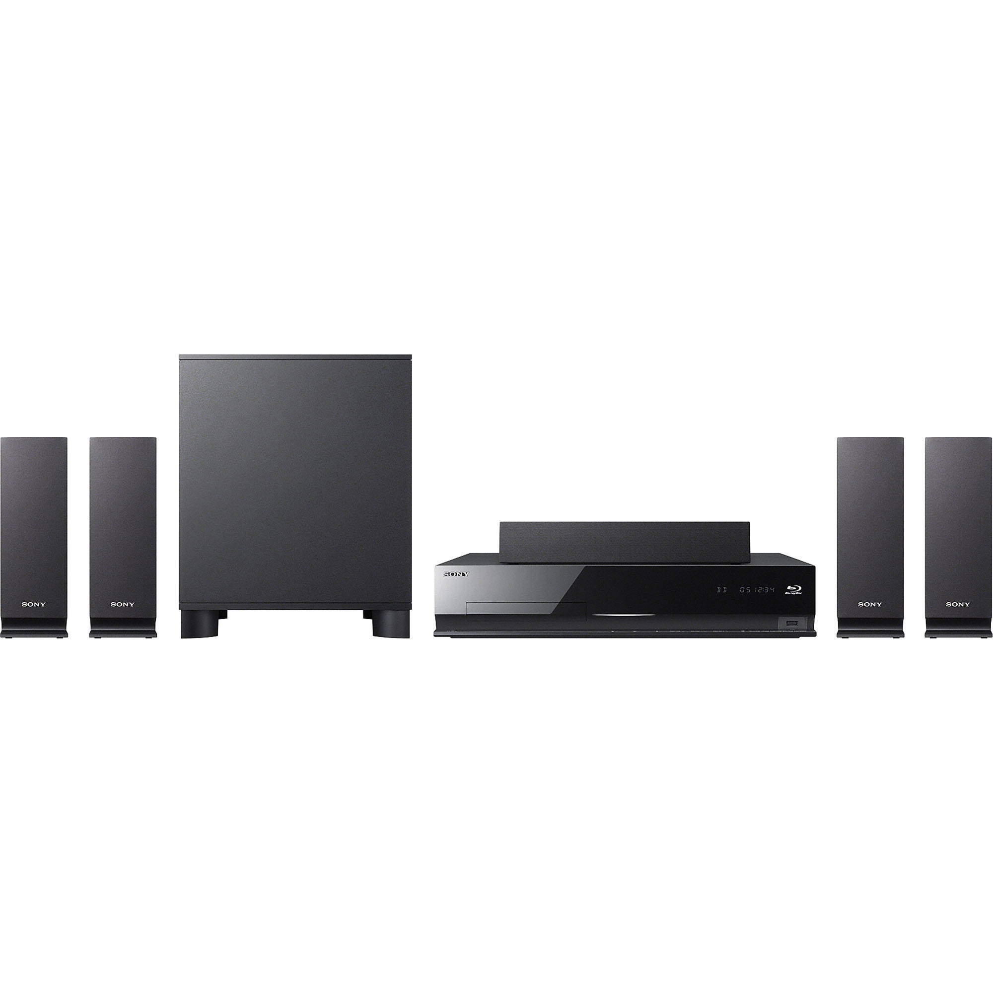 Sony Bdv E370 Blu Ray Home Theater System Bdve370 B H Photo # Meuble Tv Sony Home Cinema