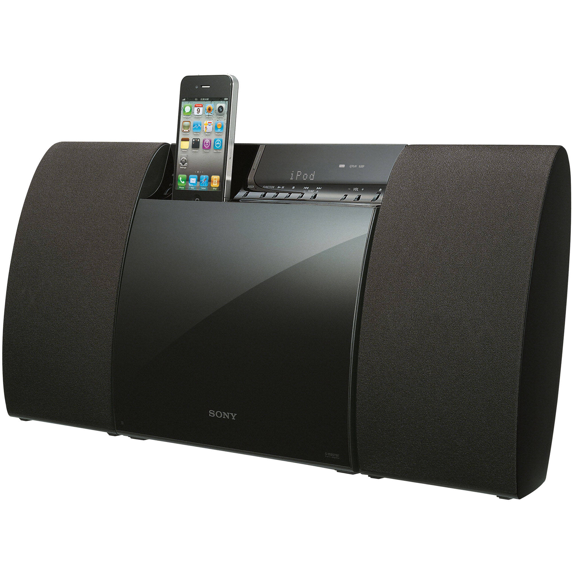Micro hi fi shelf system