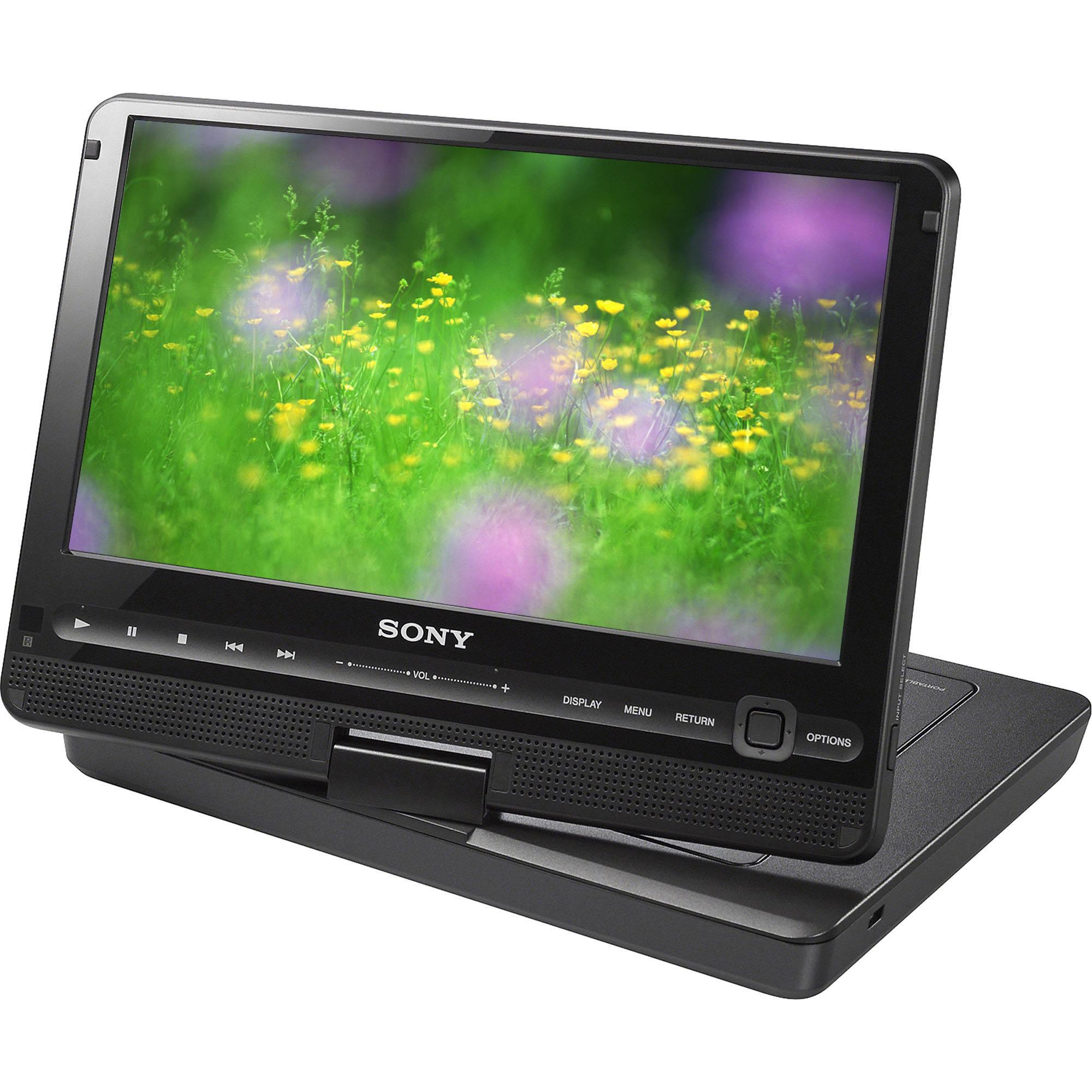 sony dvp fx950 b 9 portable dvd player dvp fx950 b b h rh bhphotovideo com