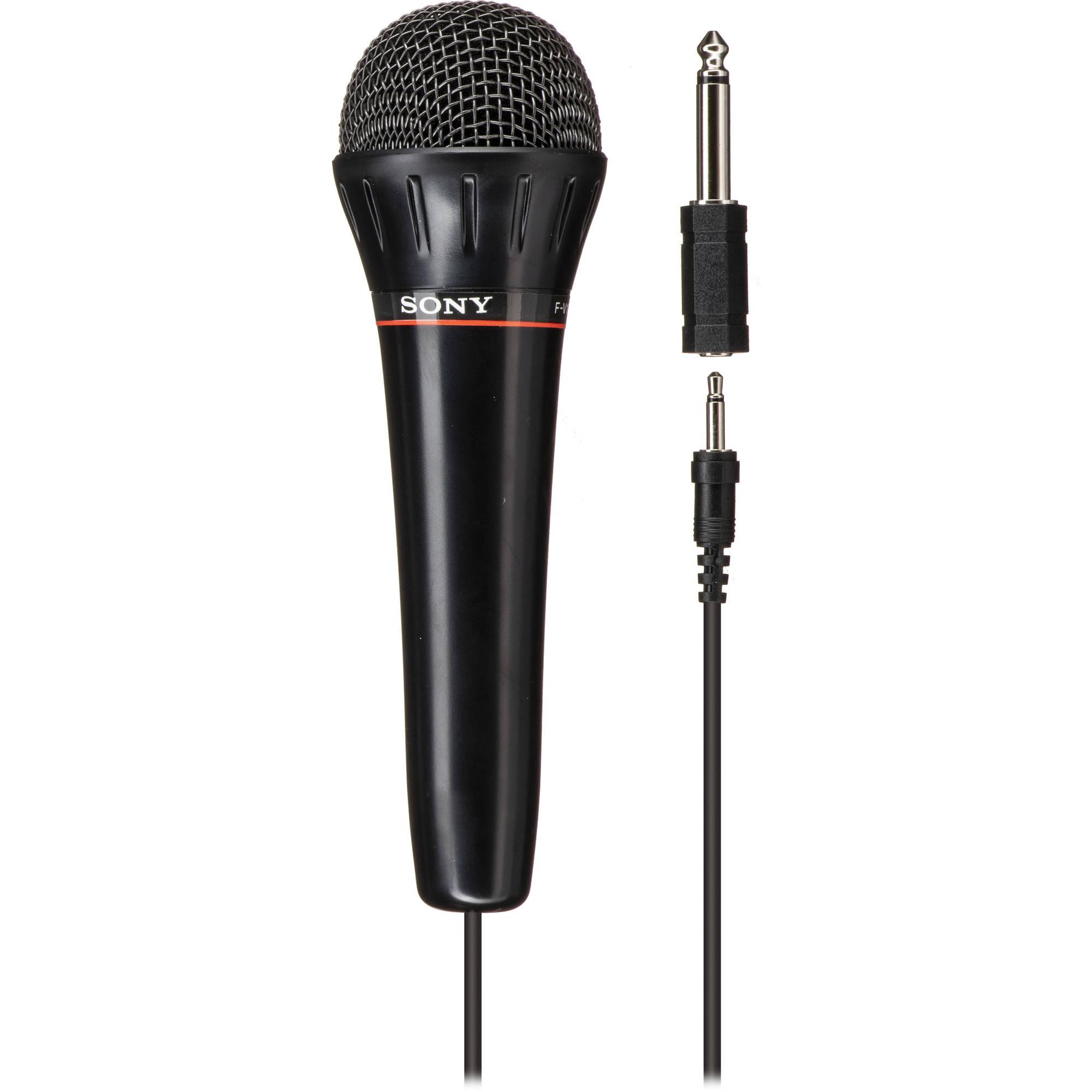 sony fv 100 omnidirectional dynamic vocal microphone fv100 b h. Black Bedroom Furniture Sets. Home Design Ideas