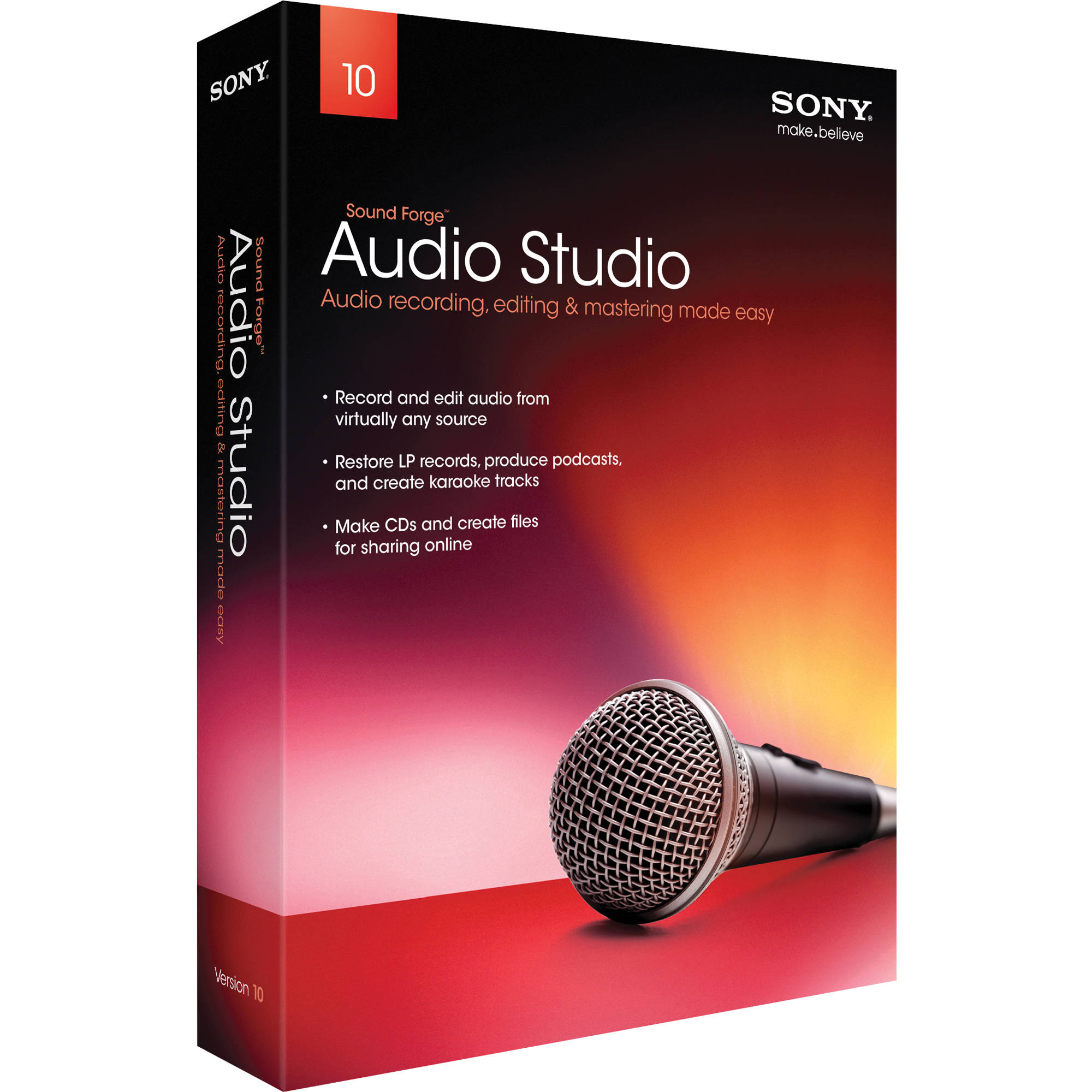 Sony sound forge audio studio v10.0 build 152 kgn