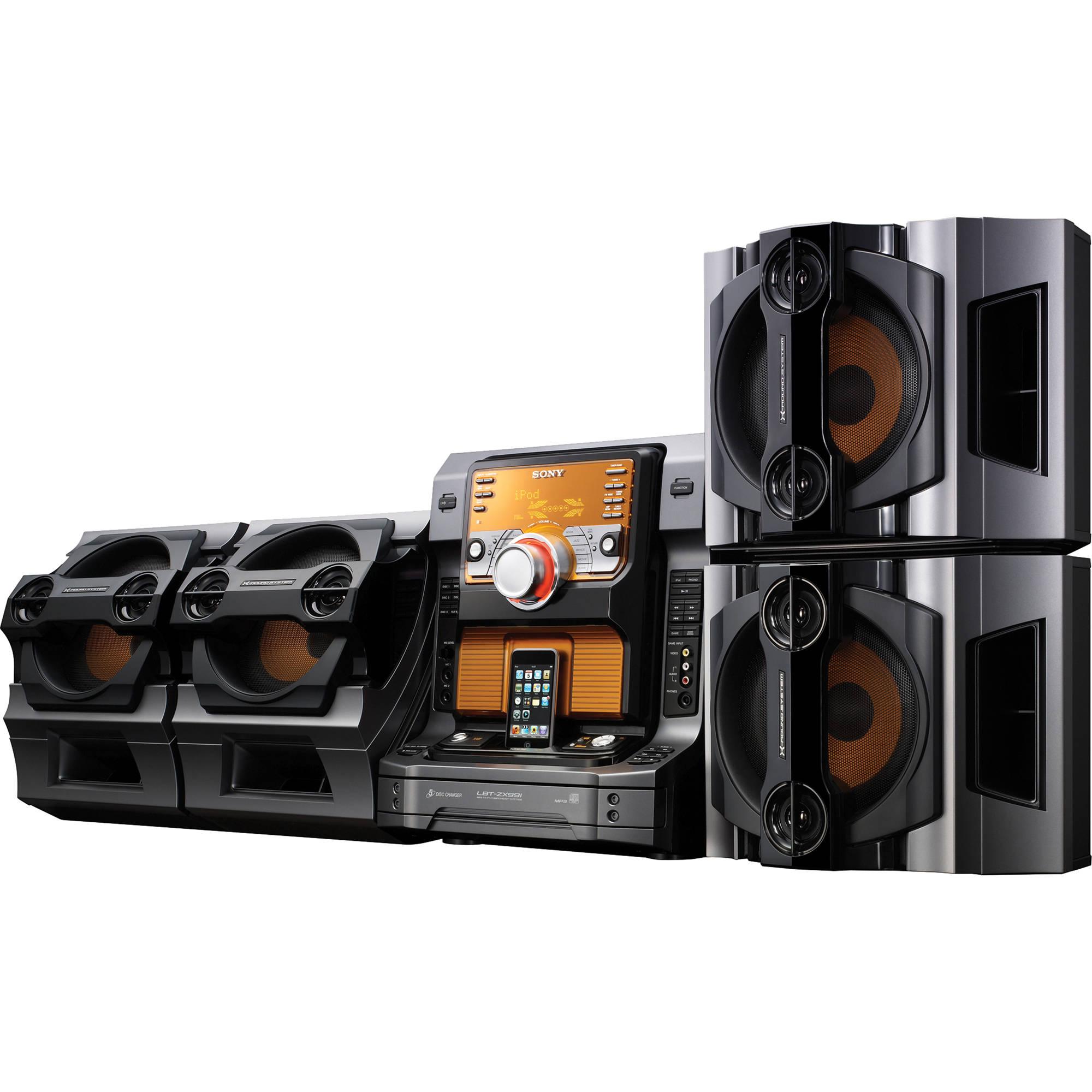 Sony lbtzx99i mini hi fi component system lbtzx99i b h photo