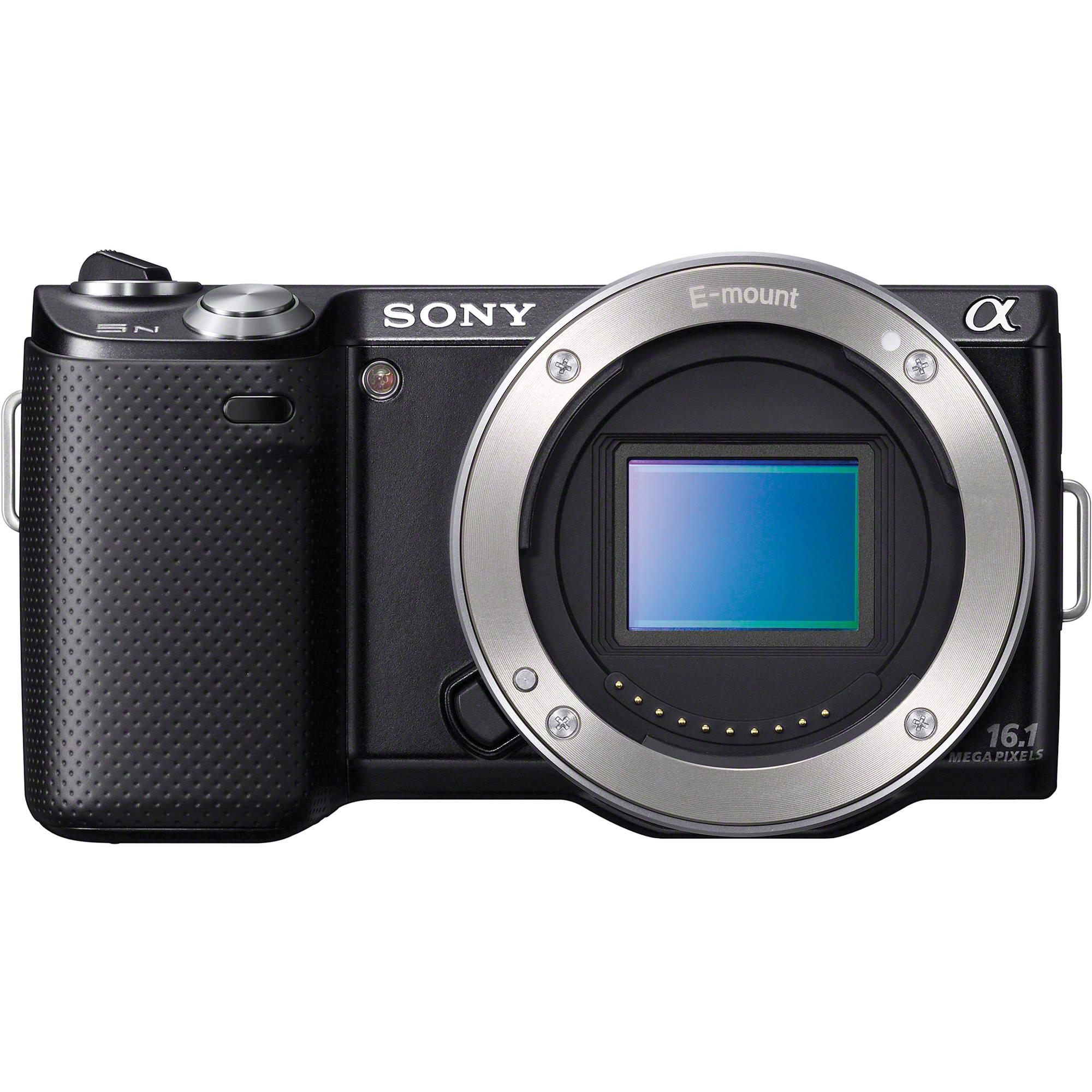 Sony Alpha NEX-5N Digital Camera with 18-55mm Lens NEX5NK/S B&H