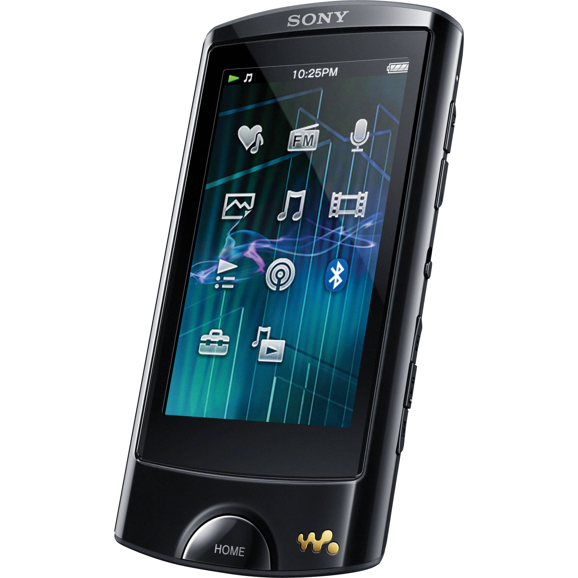 sony 16gb a series walkman video mp3 player nwza865blk b h photo. Black Bedroom Furniture Sets. Home Design Ideas