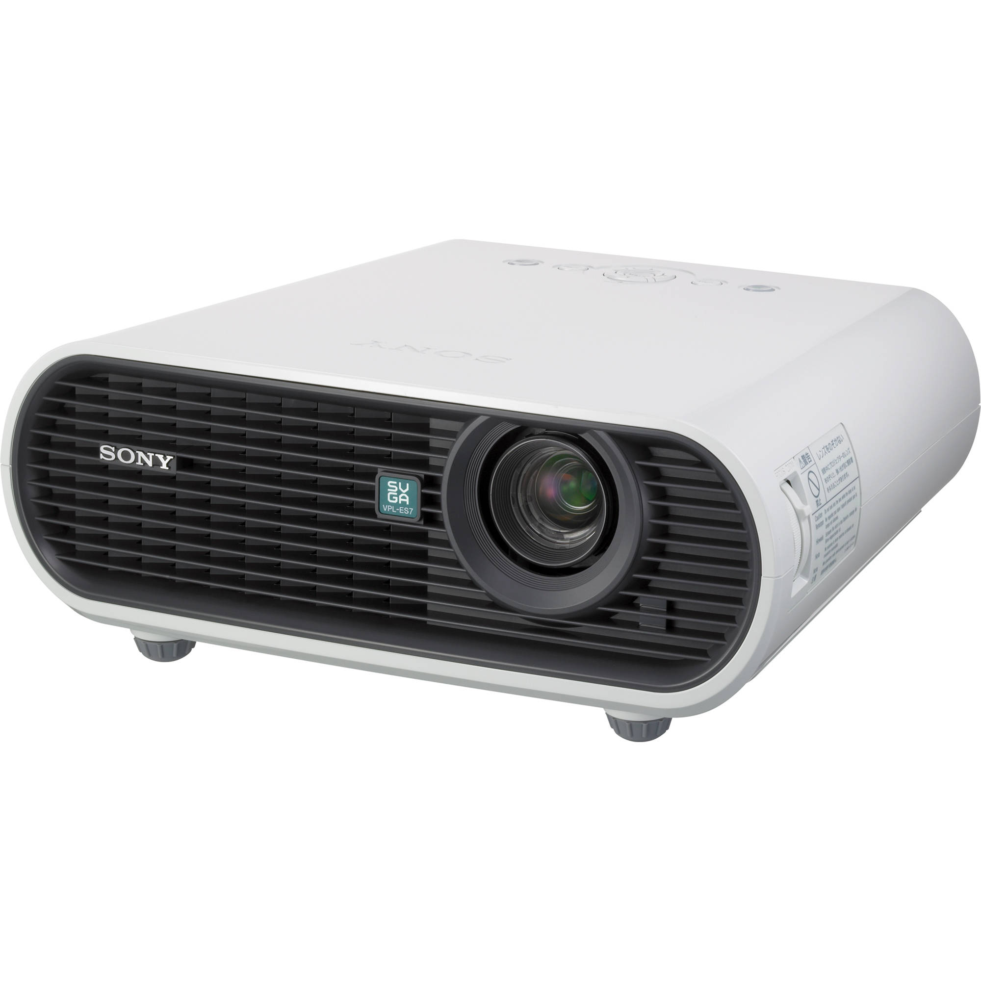 Sony vpl es7 data projector vpl es7 b h photo video for Projector tv reviews