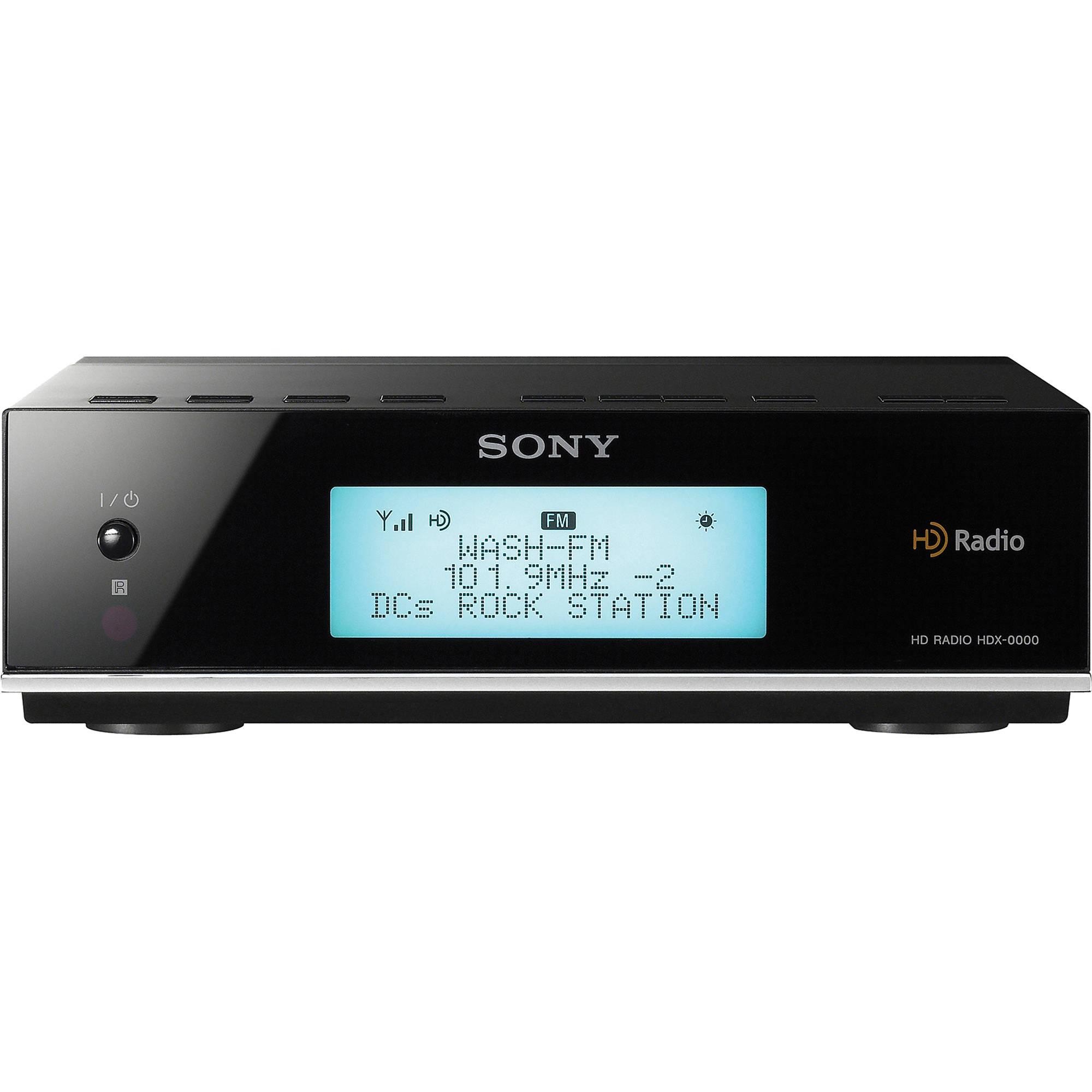 Sony XDR-F1HD HD Radio Receiver XDRF1HD B&H Photo Video