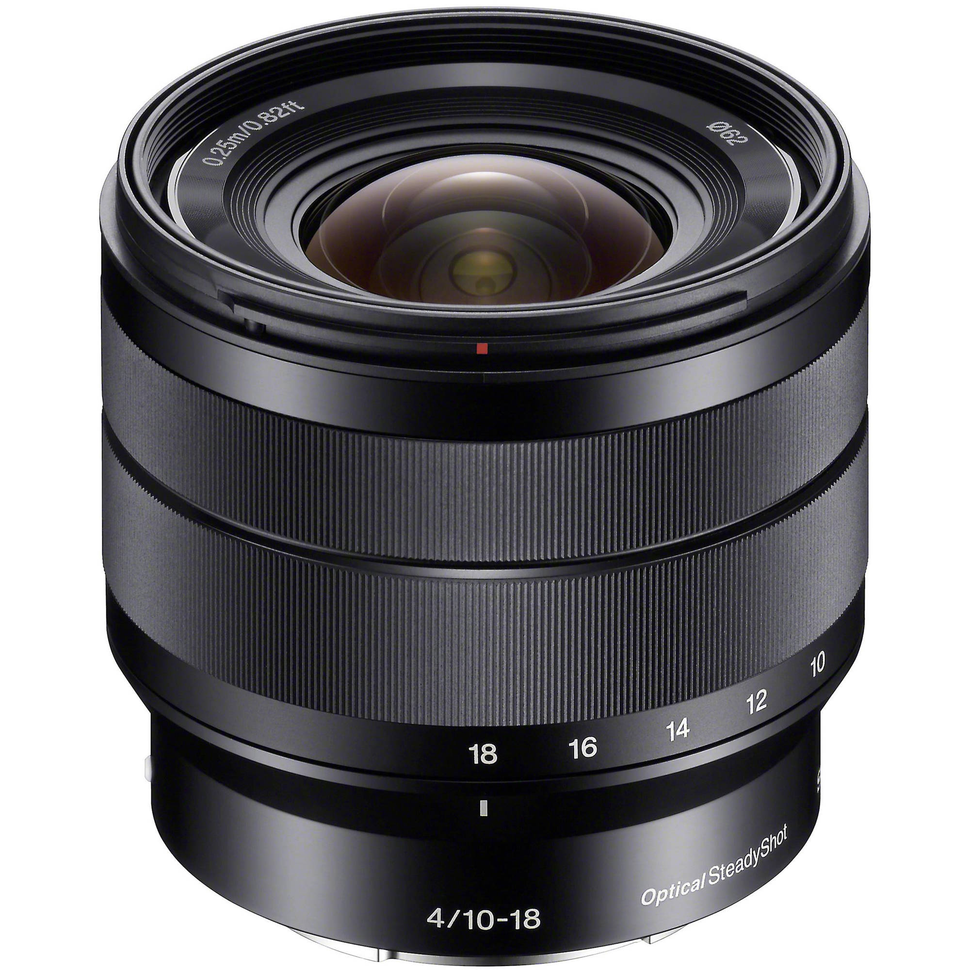 sony e 10 18mm f 4 oss lens sel1018 b h photo video. Black Bedroom Furniture Sets. Home Design Ideas