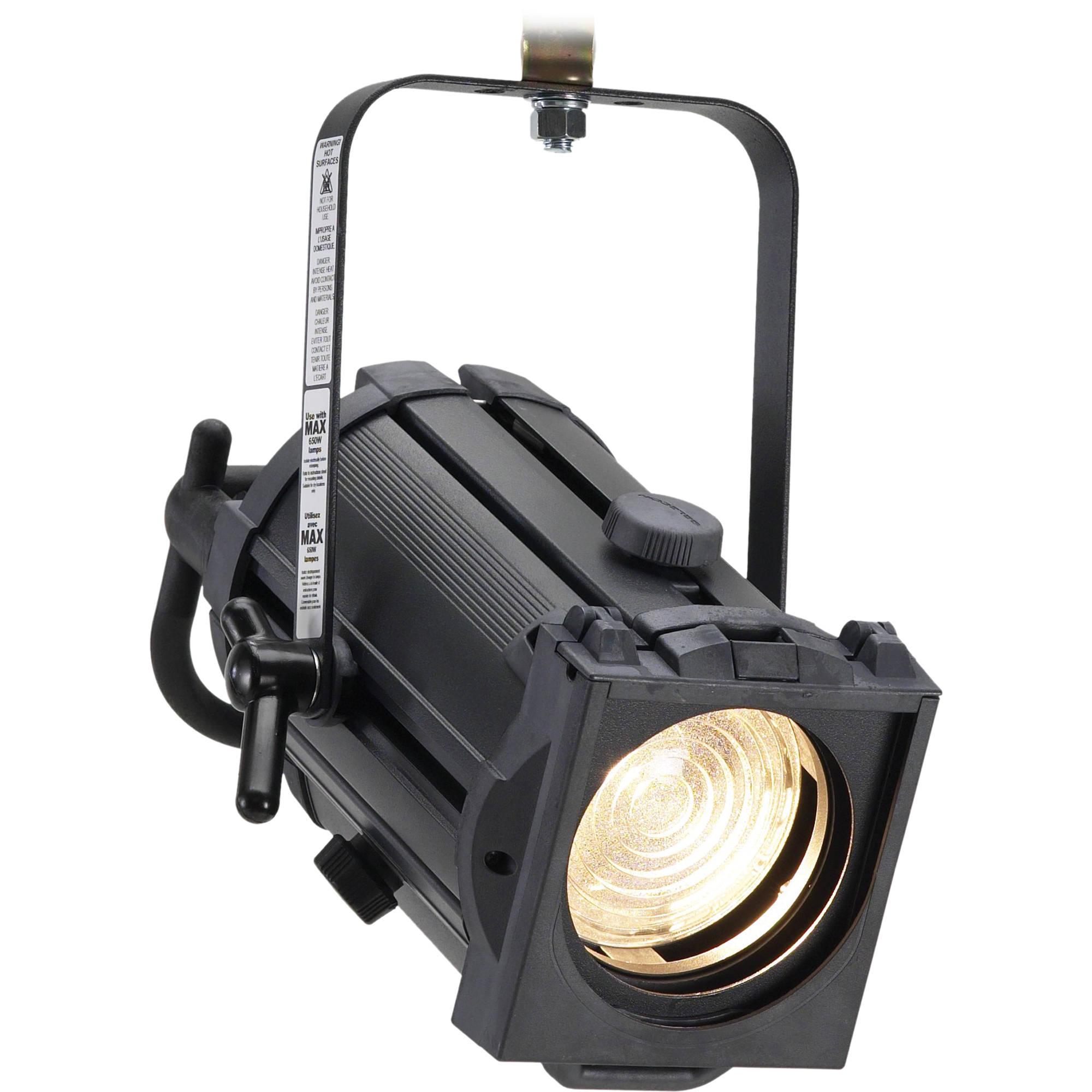 Strand Lighting Acclaim 575W 650W Fresnel Light Black