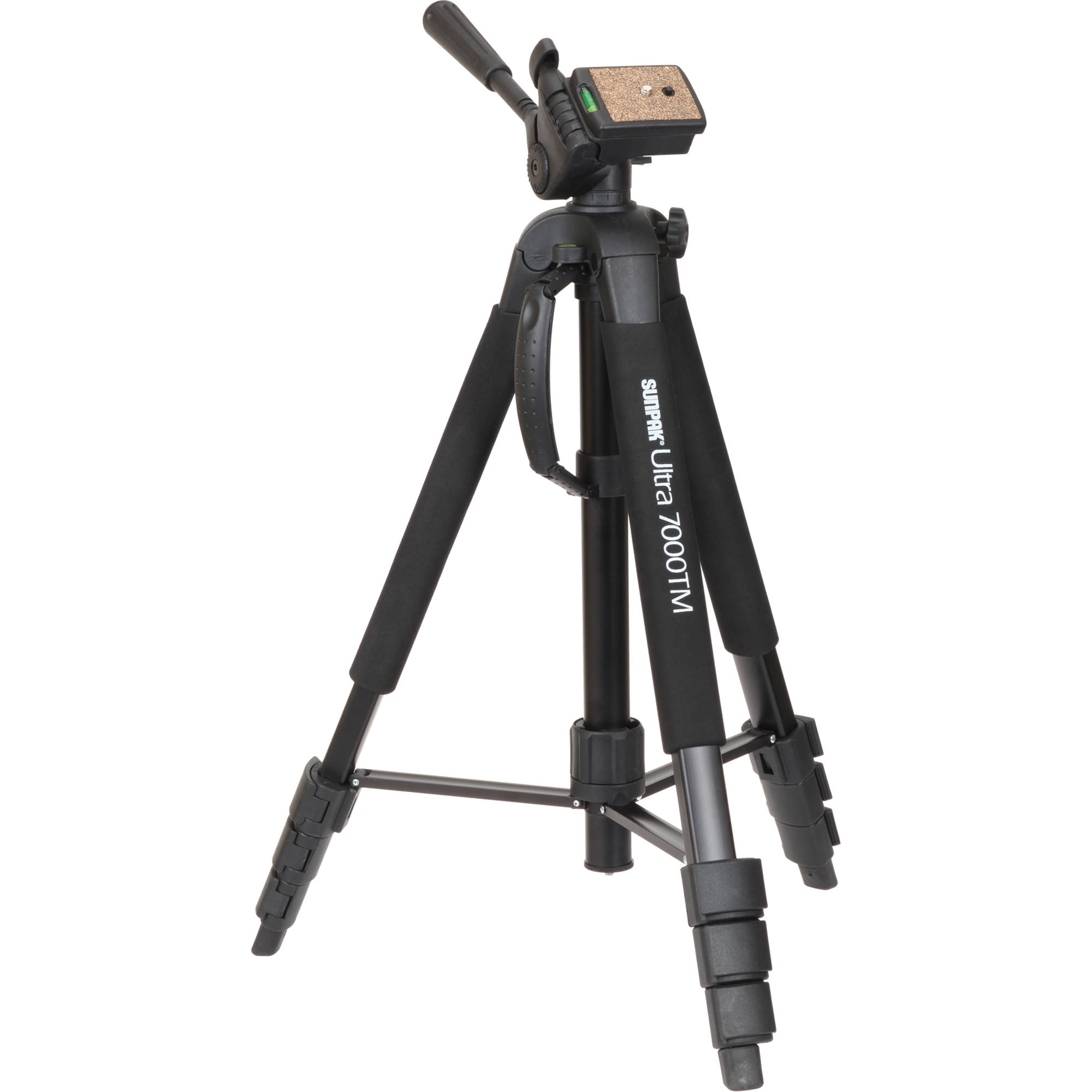 Sunpak Ultra 7000tm Tri Monopod With 3 Way 620 700tm Bh Photo The Single Pole Switch Works 3way Partly Right Pan And Tilt