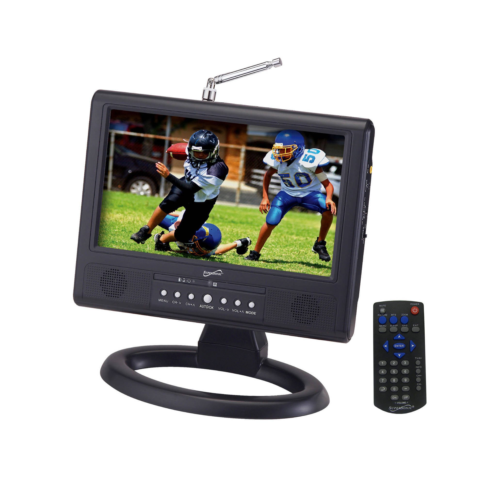 Supersonic Sc 499d 9 Portable Digital Lcd Tv Bh Nokia 6610 Interface With At89c51