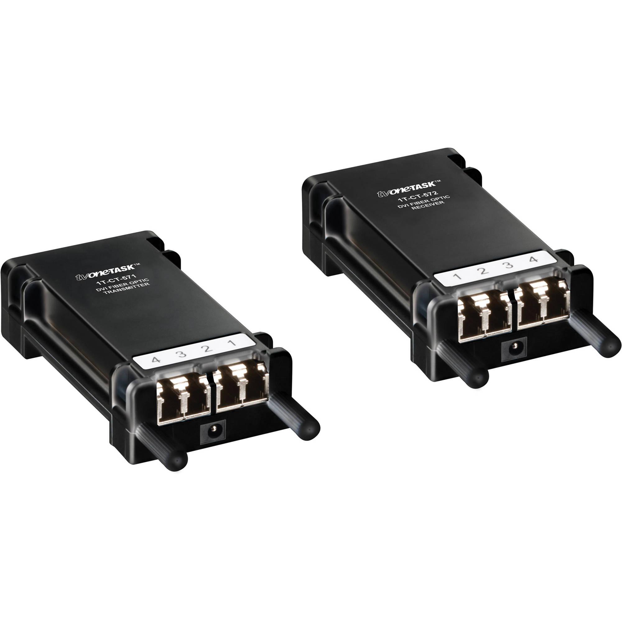 Tv One 1t Ct 570 Dvi Fiber Optic Extender Bh Photo Optics Integrated Circuits Images Of