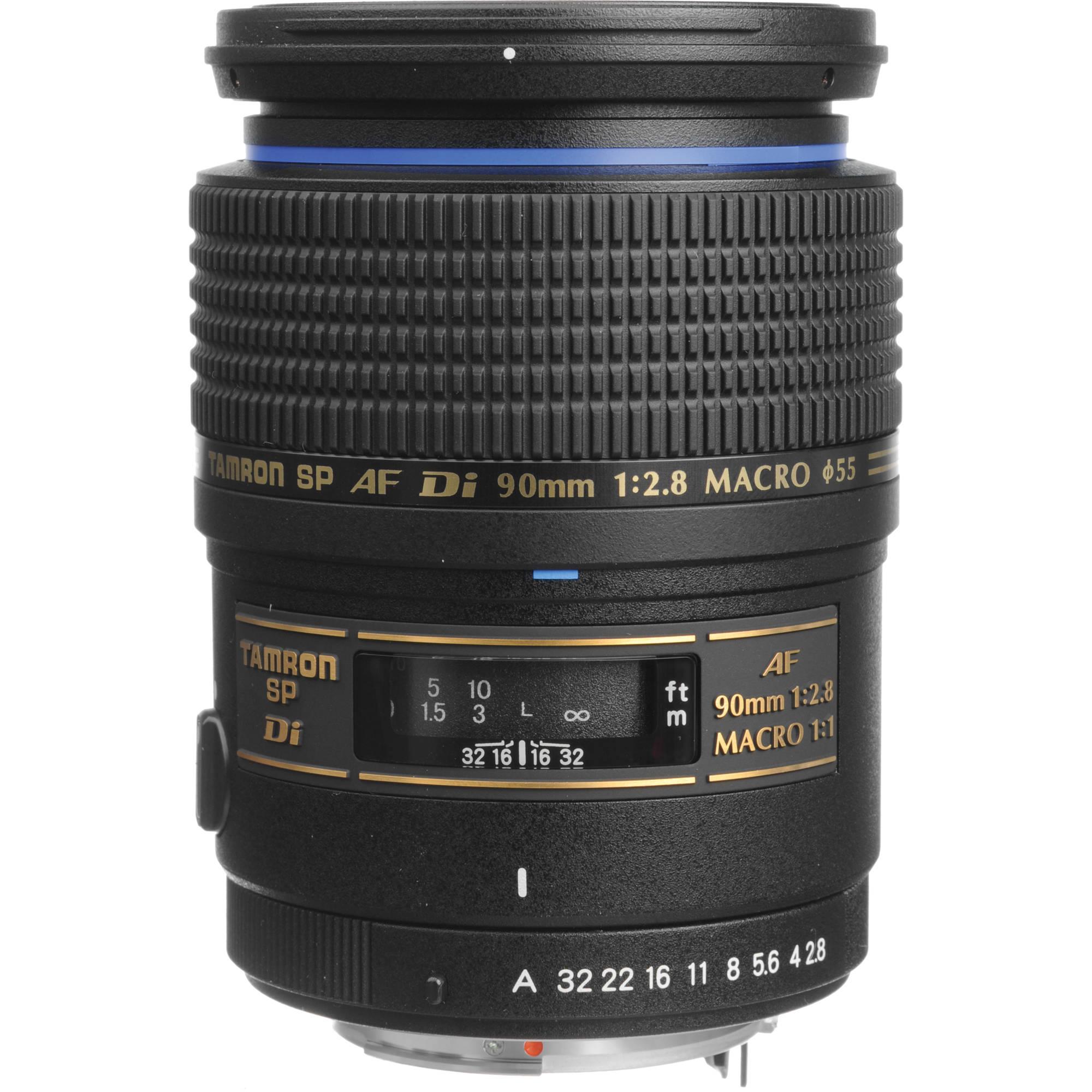Tamron SP 90mm f/2.8 Di Macro Autofocus Lens AF272P-700 B&H