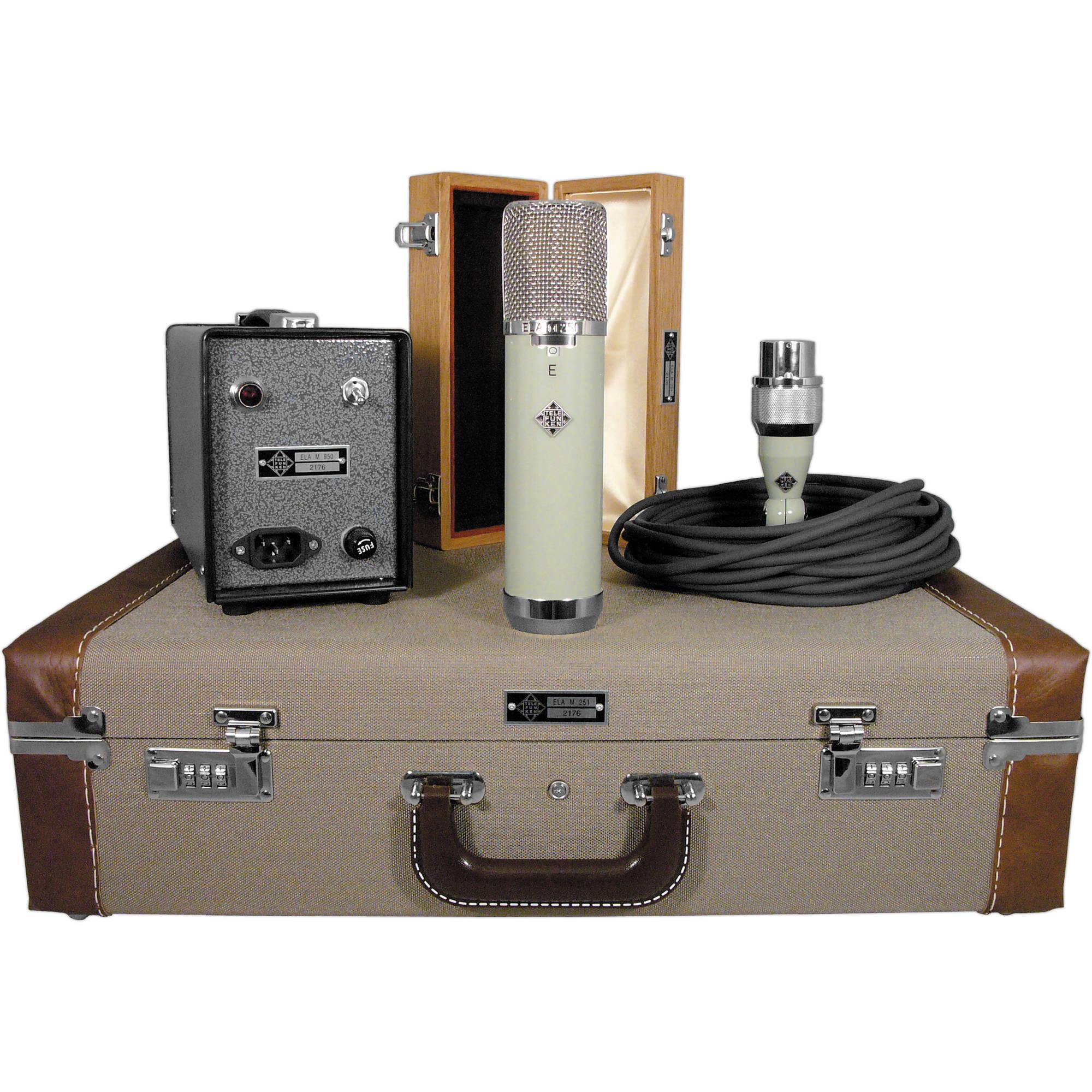 Telefunken Ela M 251e : telefunken ela m 251e classic tube microphone ela m 251e b h ~ Hamham.info Haus und Dekorationen