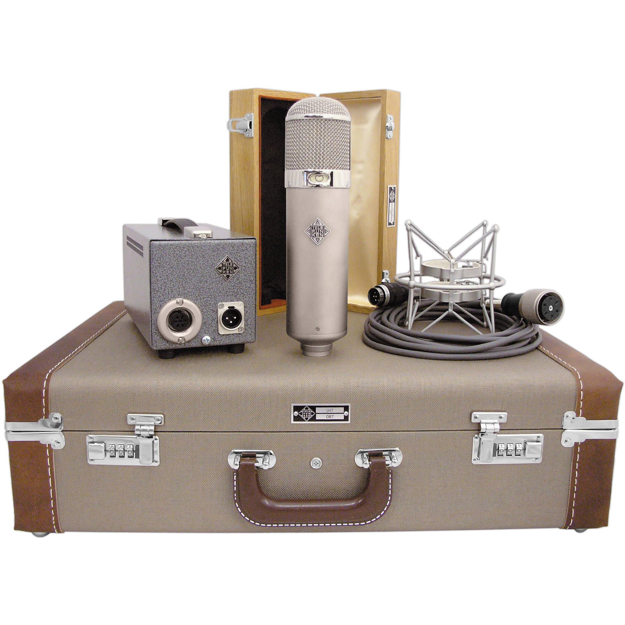 Telefunken U47 Dual Pattern Tube Microphone U 47 Bh Photo Video Details About New U87 Type Circuit Condenser Case Shock