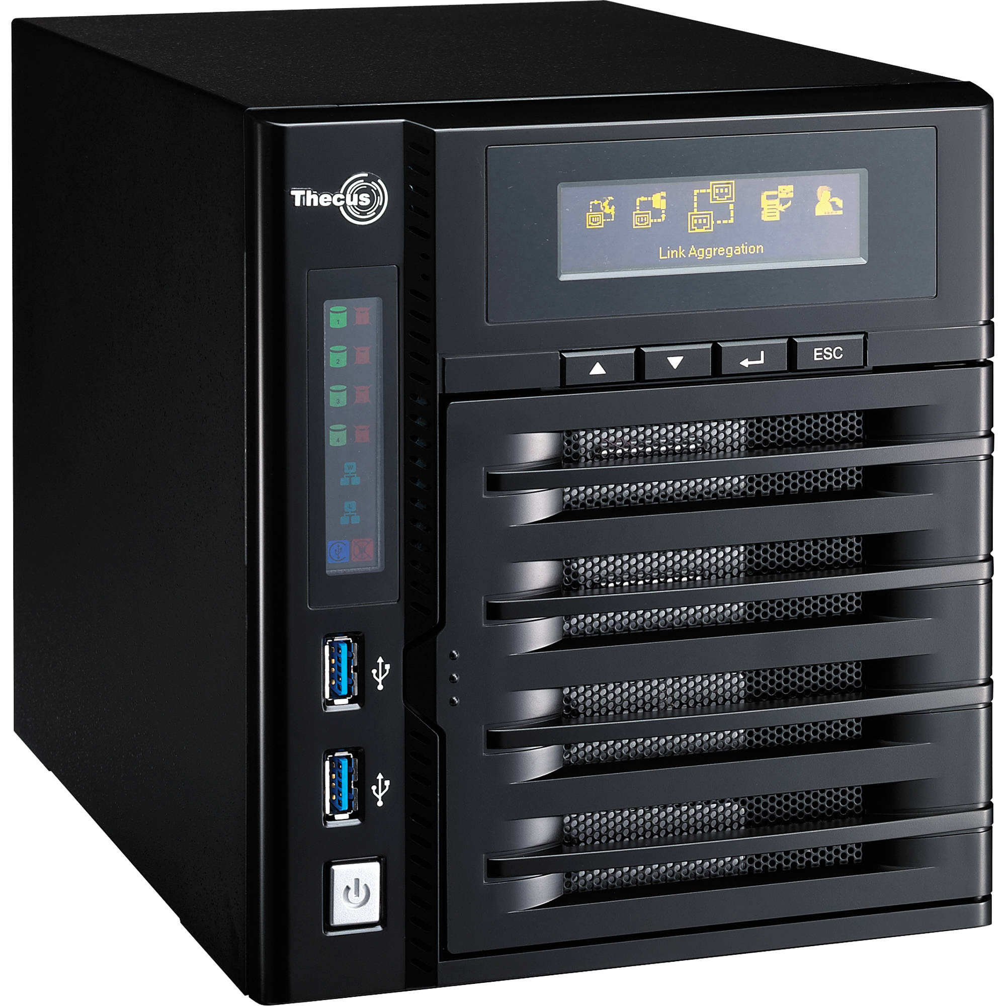 Thecus N4800 NAS Server Linux