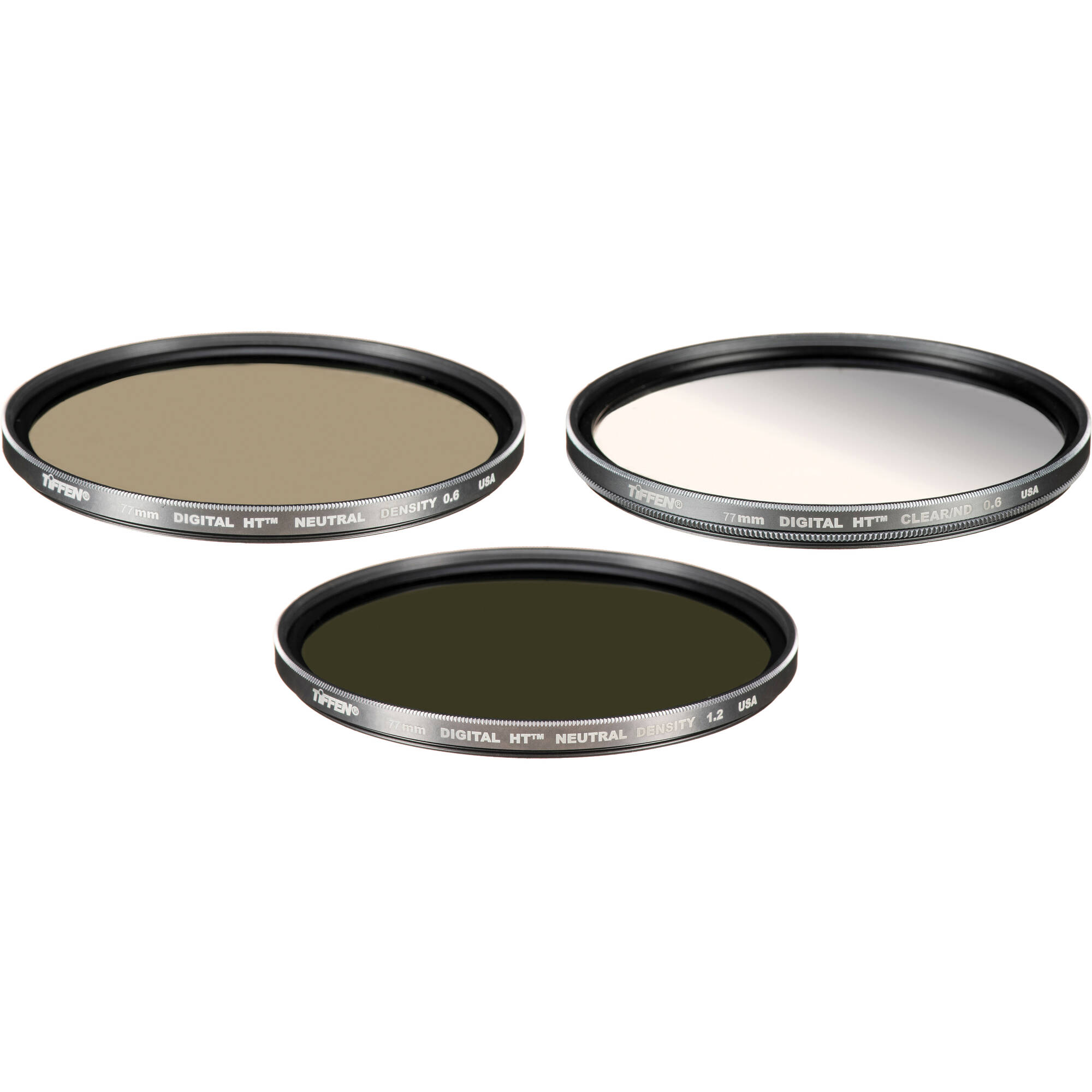 Tiffen 77mm Digital Ht Neutral Density Filter Kit 77htndk3 B Amp H