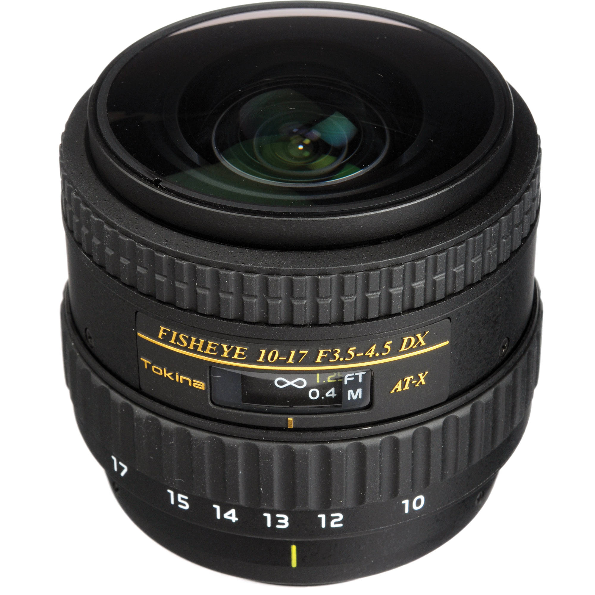Tokina At X 107 Af Dx Nh Fisheye 10 17mm F 3 5 4 5