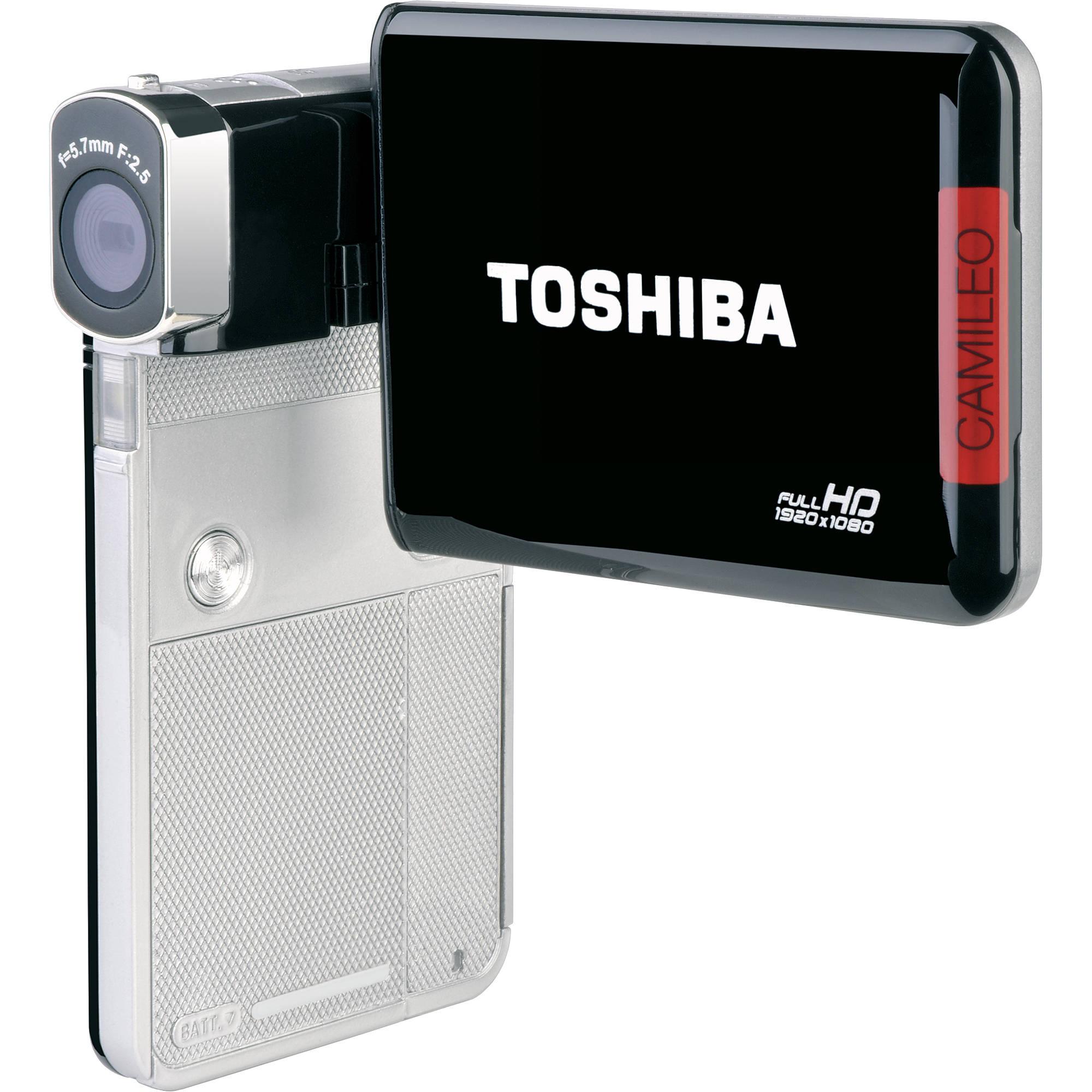 Toshiba CAMILEO S30 1080p HD Camcorder PA3893U-1CAM B&H Photo