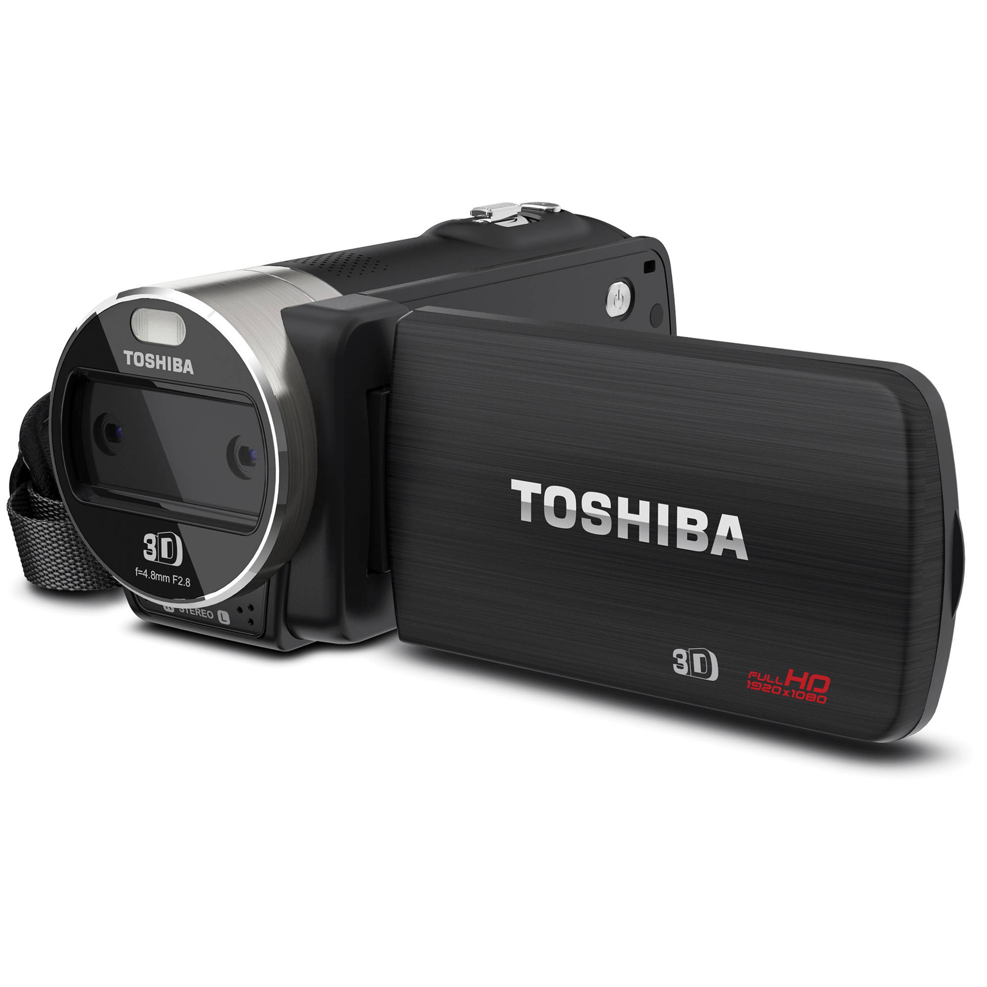 toshiba camileo z100 full hd 3d camcorder pa5012u 1c0k b h photo rh bhphotovideo com Toshiba Camileo B10 Review Toshiba Camcorder Battery