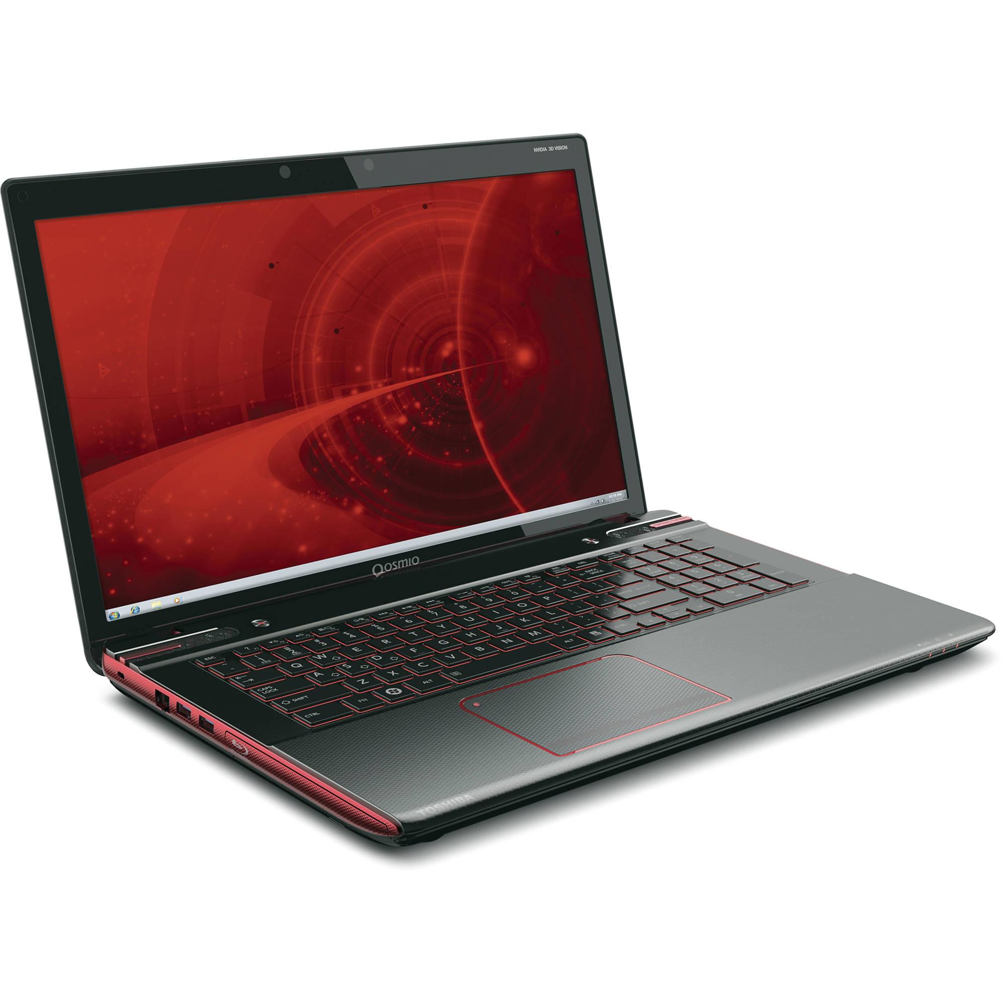 Toshiba Qosmio X870 Webcam 64 BIT
