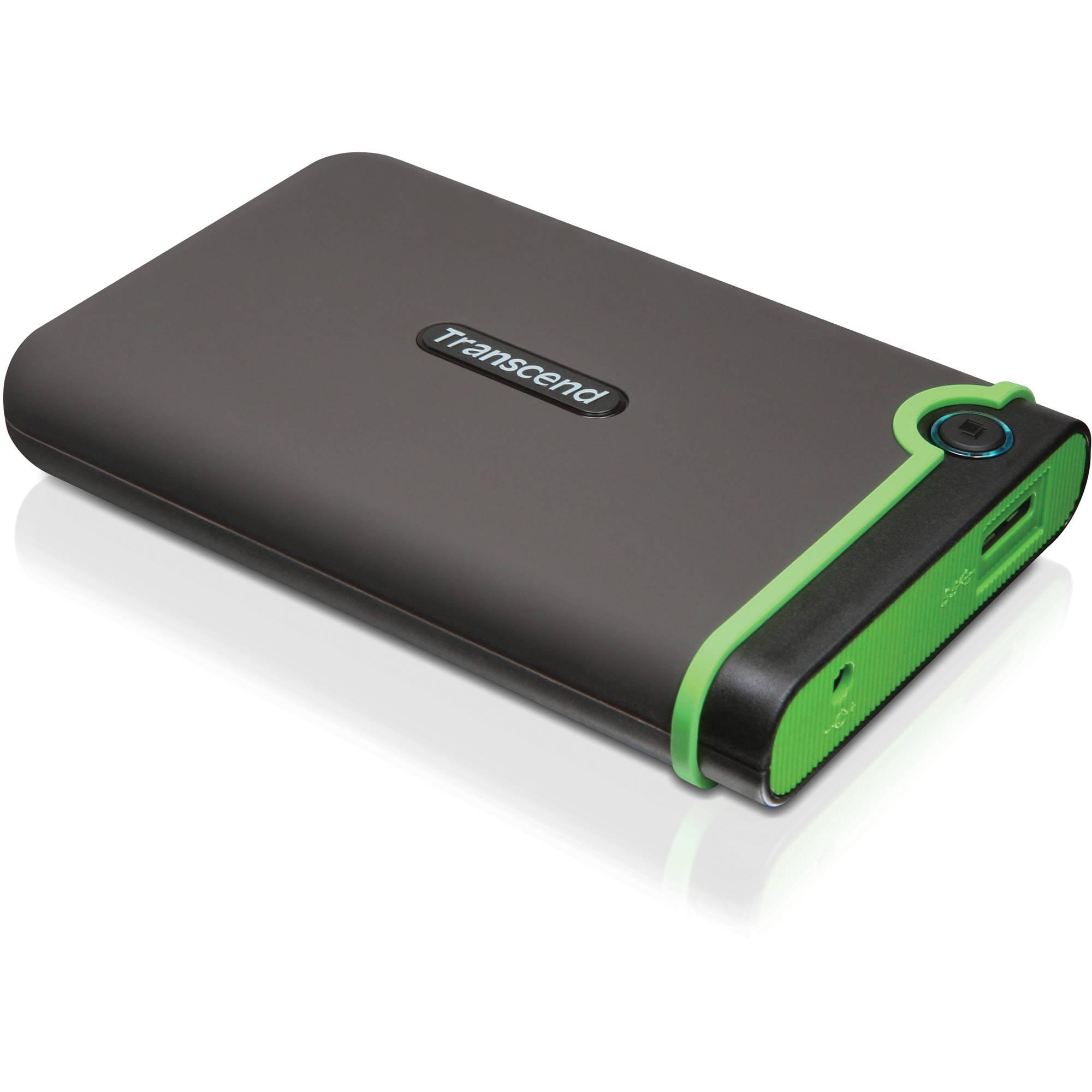 Buy Transcend StoreJet 25M3 USB 3.0 1TB grey from £48.08