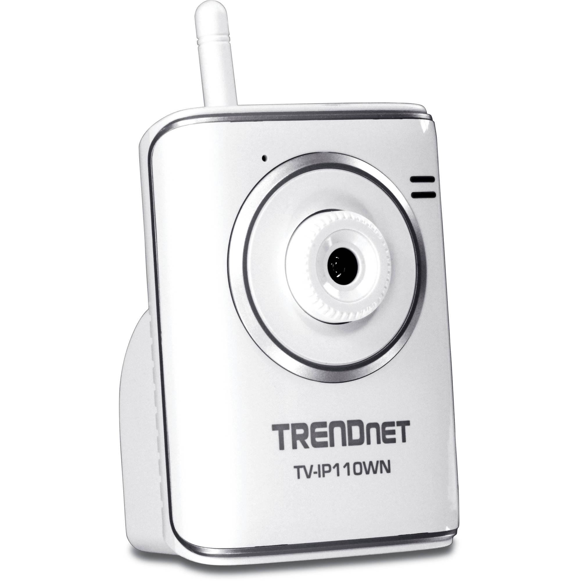 Trendnet tv ip110wn securview wireless n internet tv for Camera it web tv