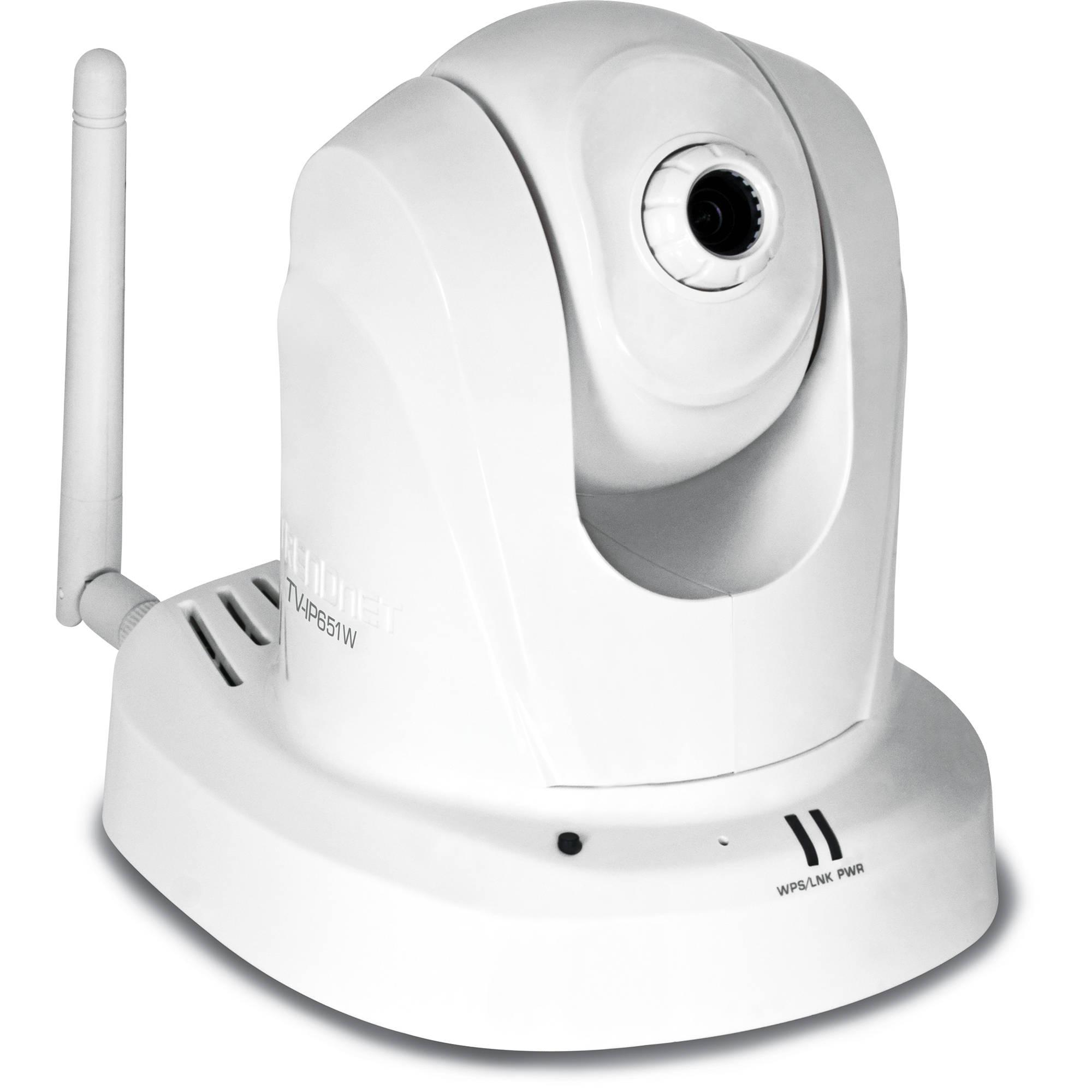 TRENDnet TV-IP651W Wireless N PTZ Internet Indoor TV-IP651W B\u0026H