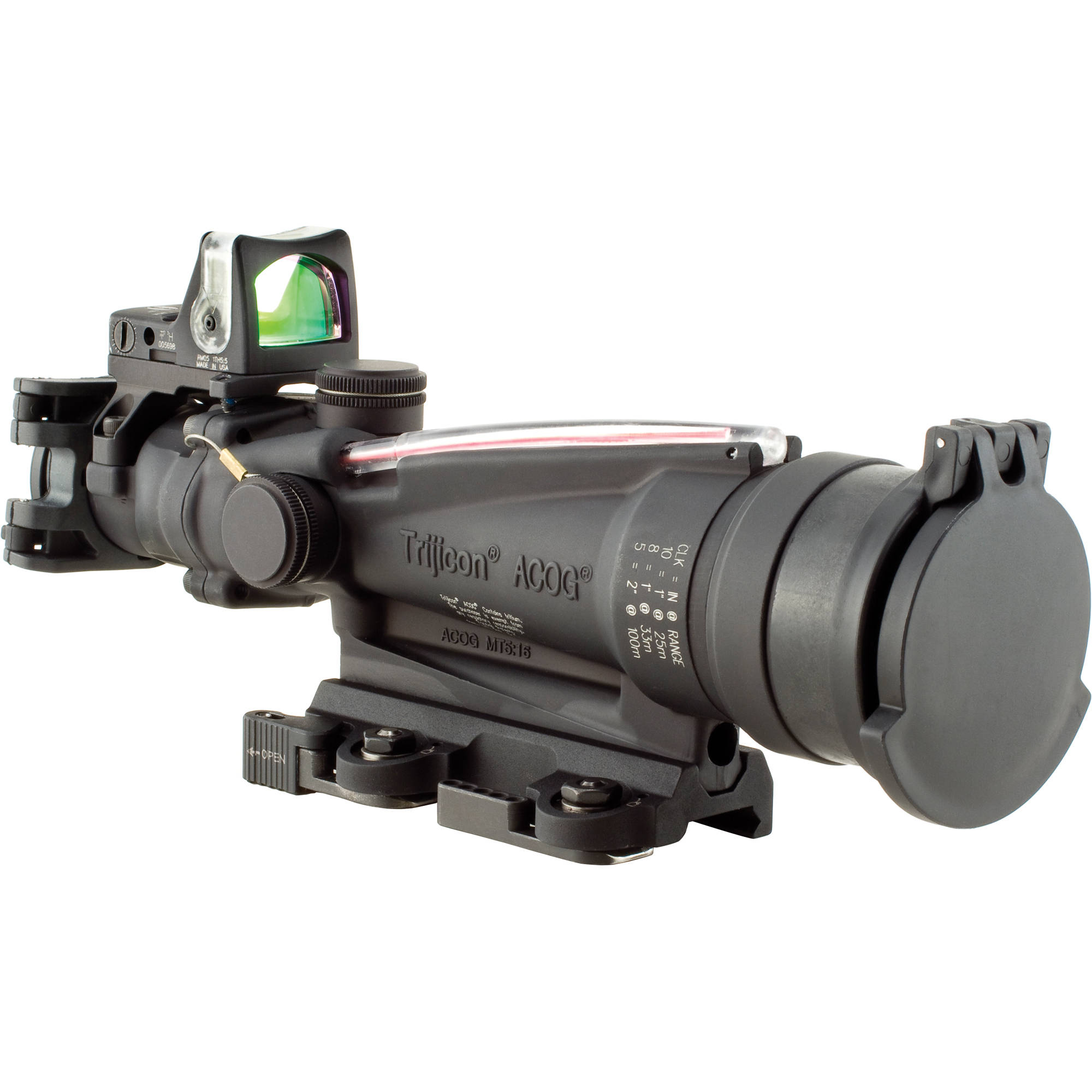 Trijicon 3 5x35 Acog Machine Gun Optic Riflescope Ta11sdo B Amp H
