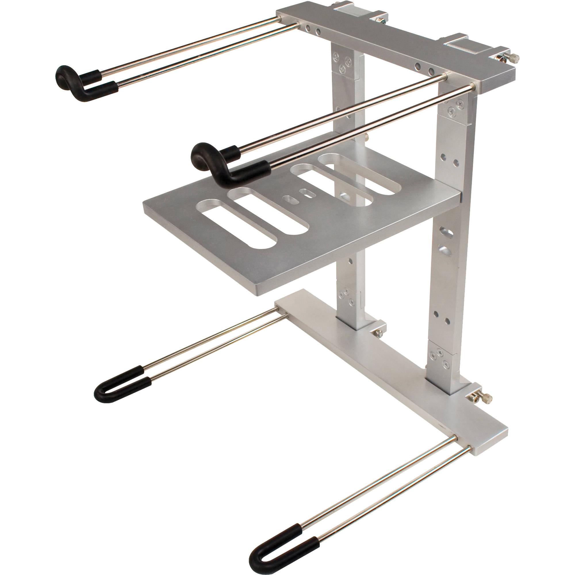 Ultimate support js lpt400 aluminum double tier js lpt400 b h for Stand modulaire aluminium