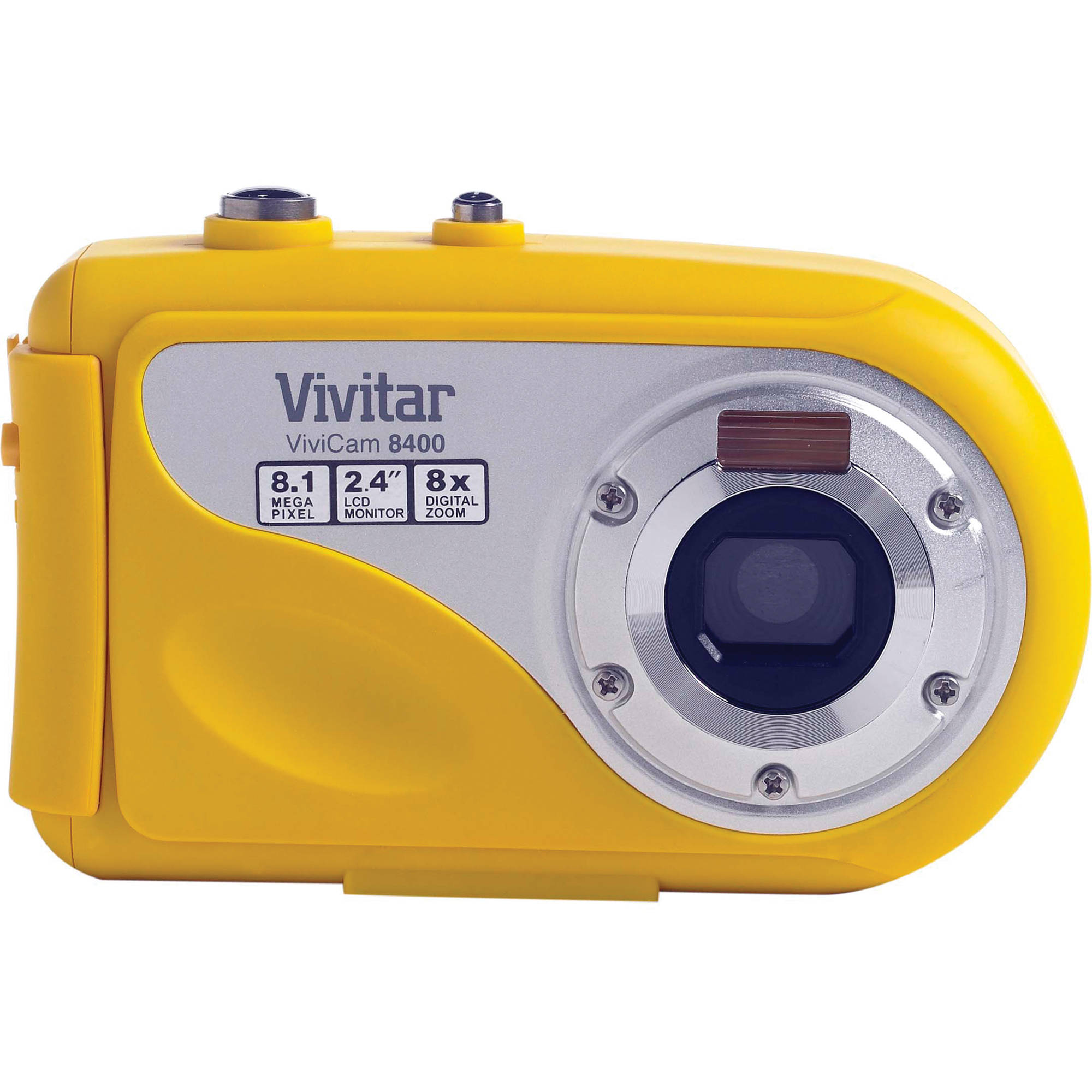vivitar vivicam 8400 digital camera yellow 8400yellow b h