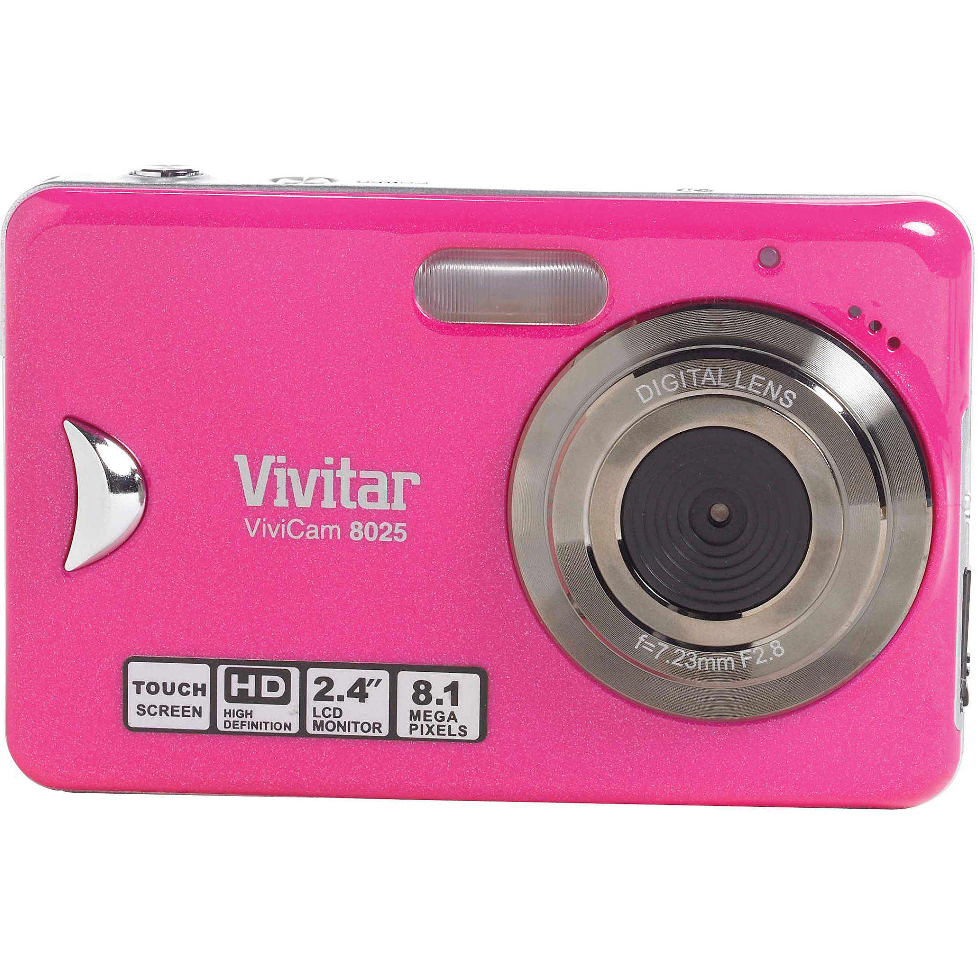 vivitar vivicam 8025 point and shoot digital camera v8025 pink rh bhphotovideo com