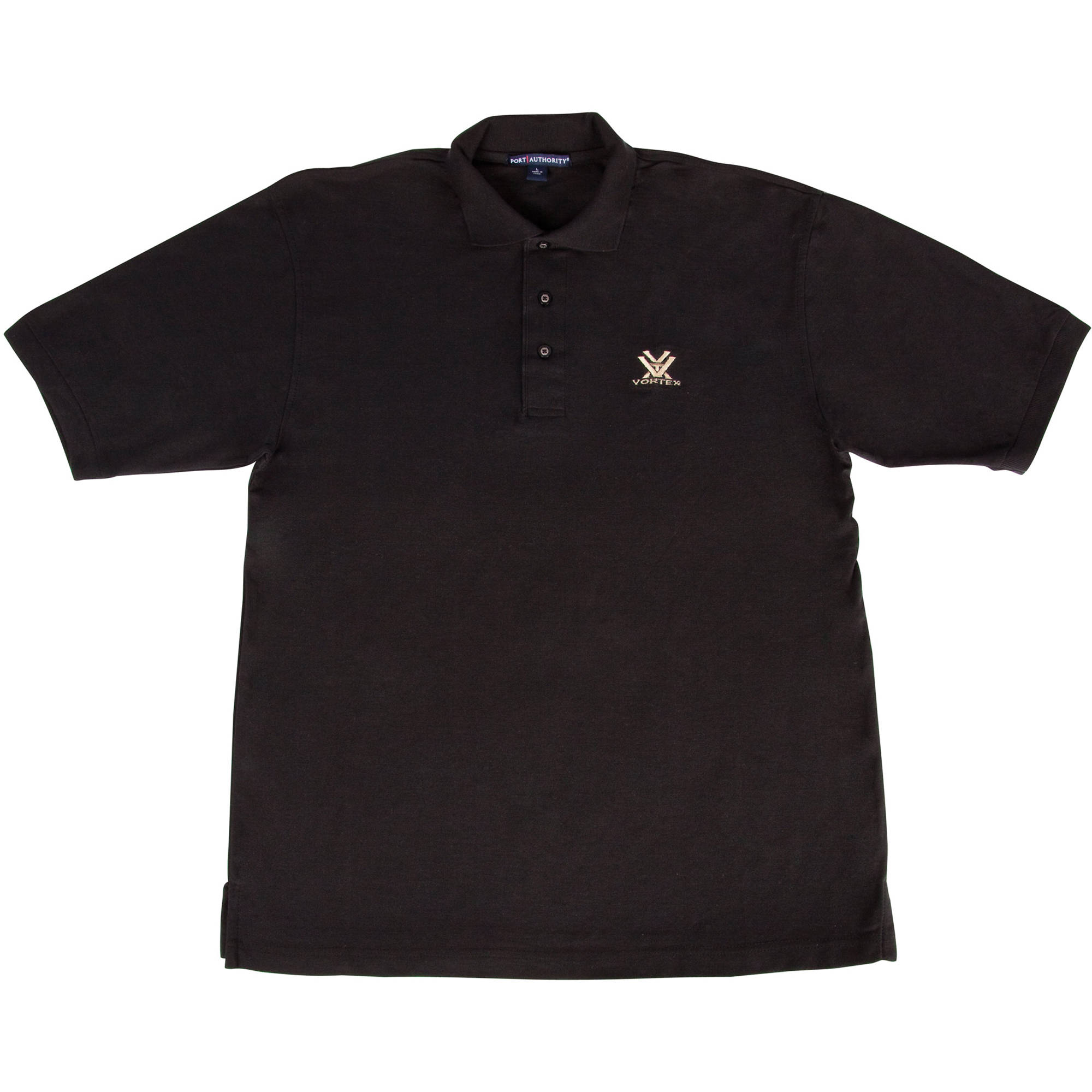vortex black polo shirt xxxl k500 blk xxxl b h photo video. Black Bedroom Furniture Sets. Home Design Ideas